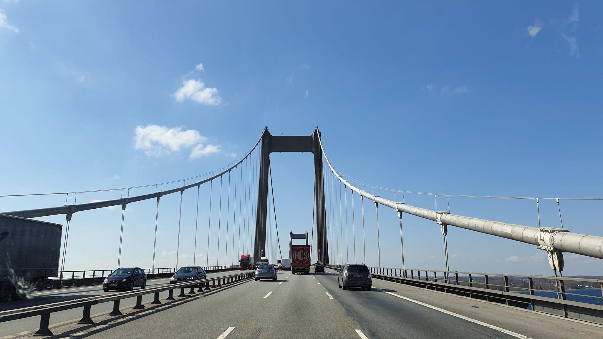 Auch die dritte Brücke ist ein Klacks