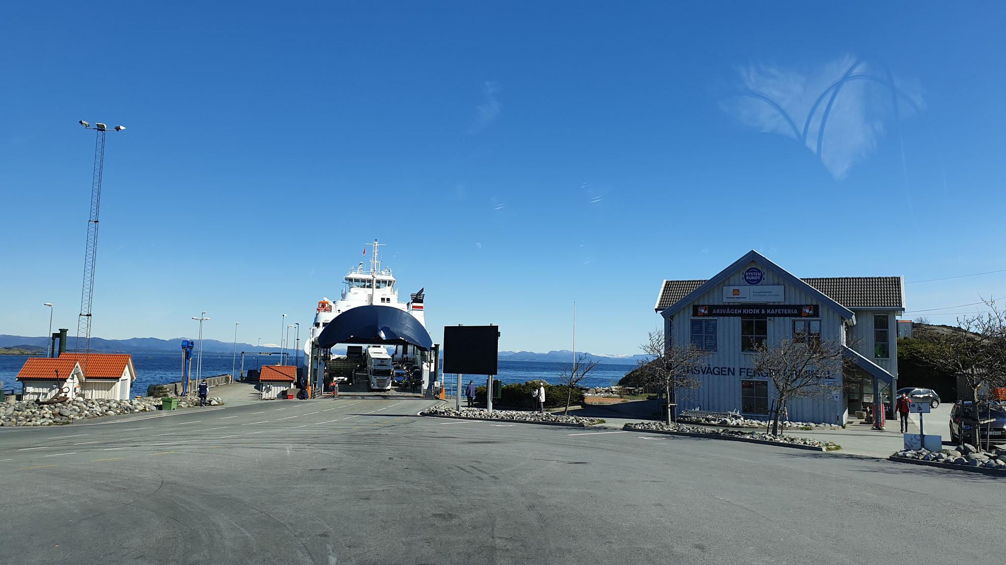 Ab hier ist unsere Fjord1-Karte nicht mehr brauchbar