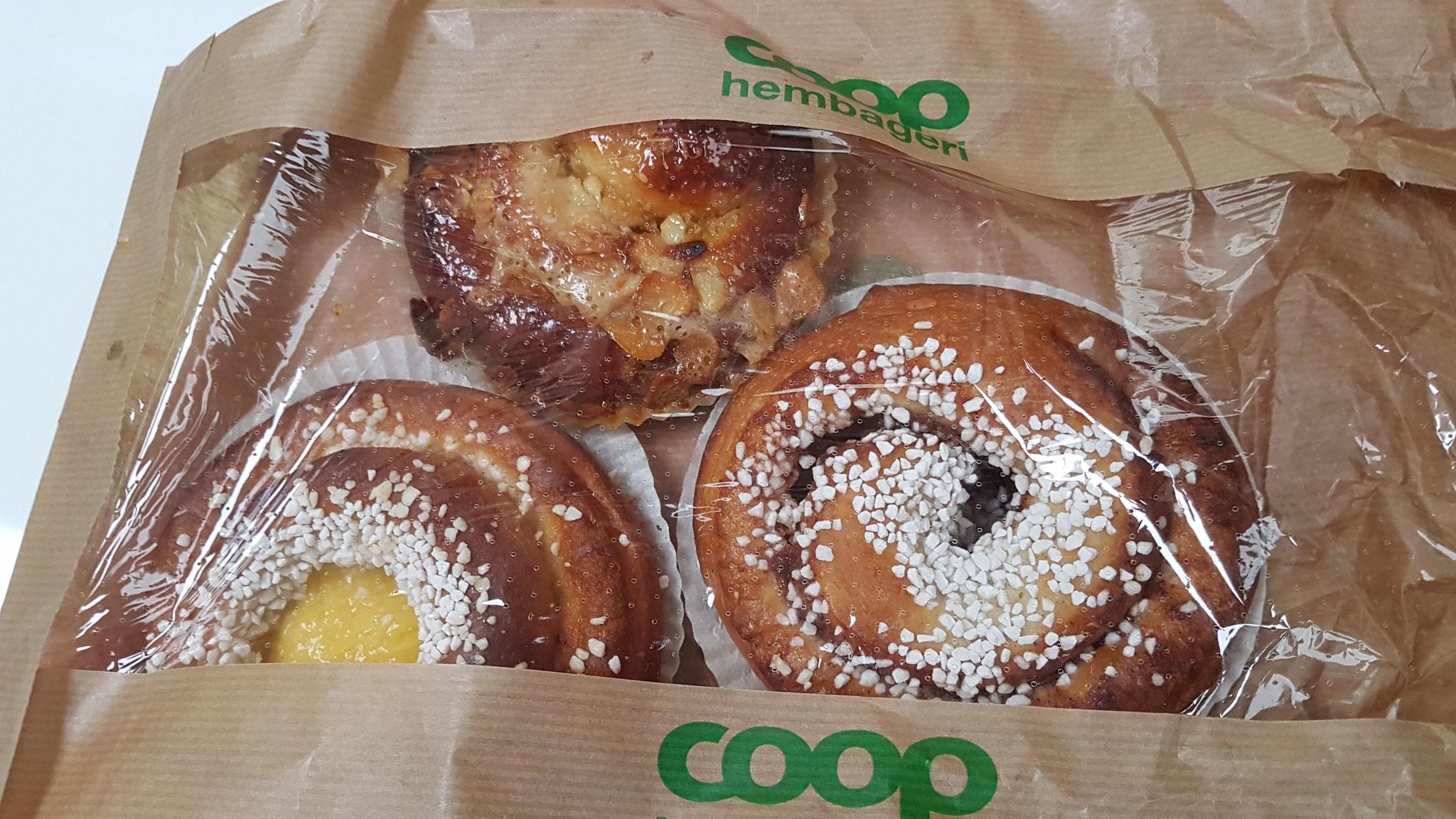 Drei süsse Abschiedsgeschenke aus Schweden