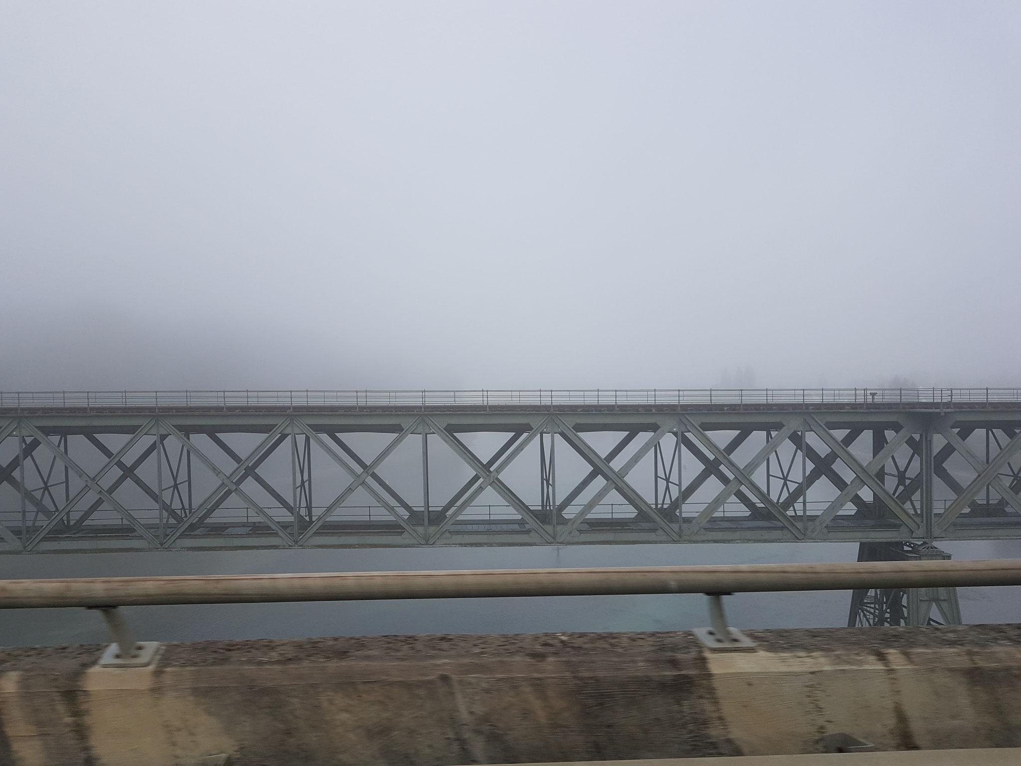 ...und am Rhein sieht es auch noch nicht besser aus.