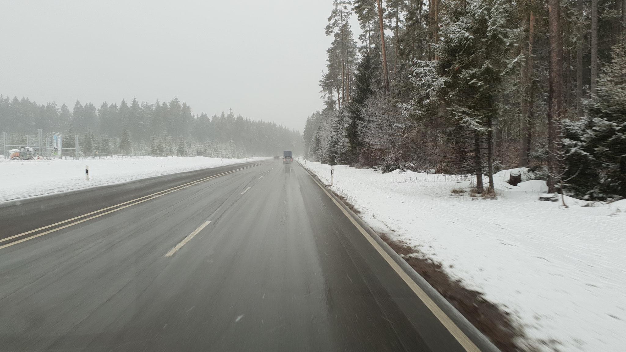 Richtung Schwarzwald...