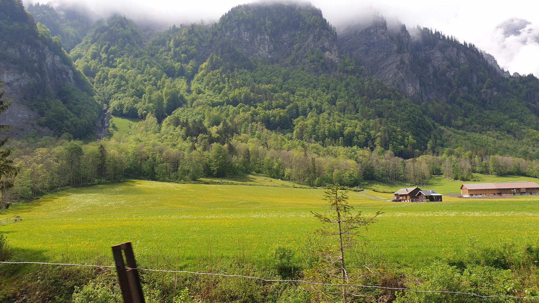 ...weiter im Glarnerland