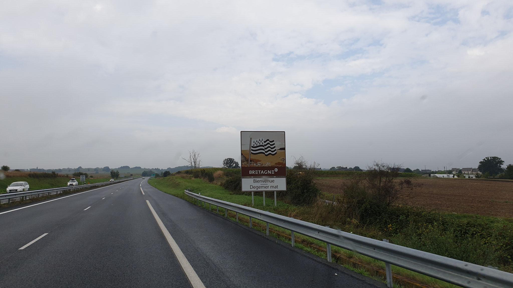Wieder in der Bretagne