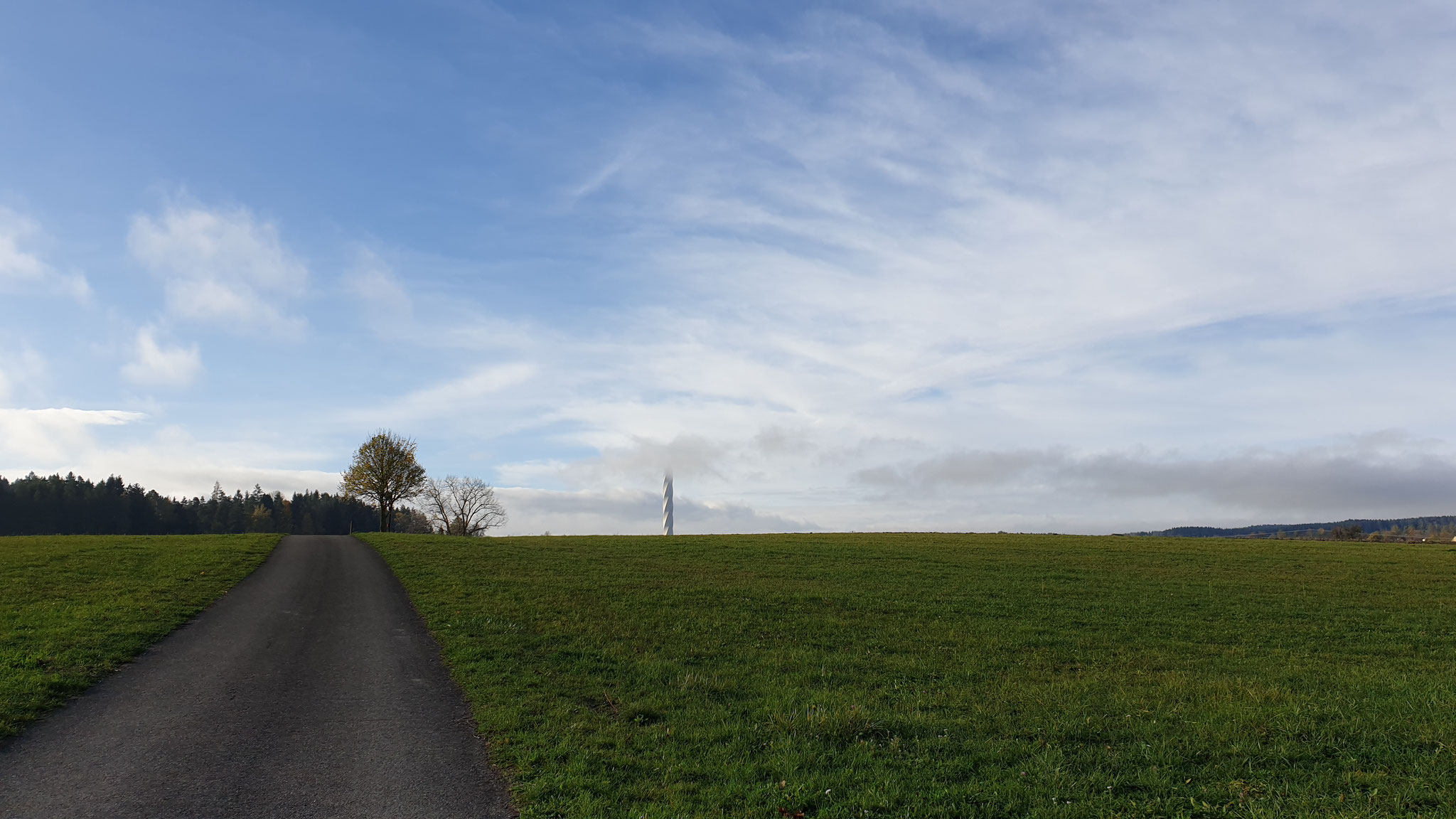Spaziergang über's Feld