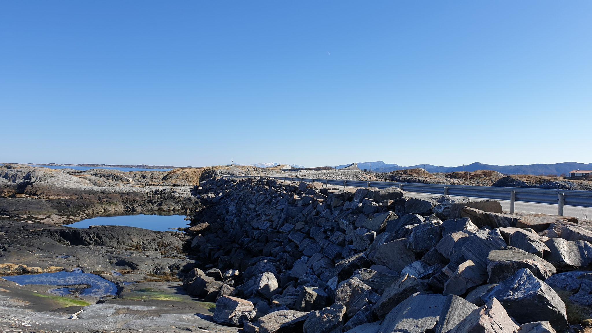 Ein paar Fotos vom Atlantikweg...