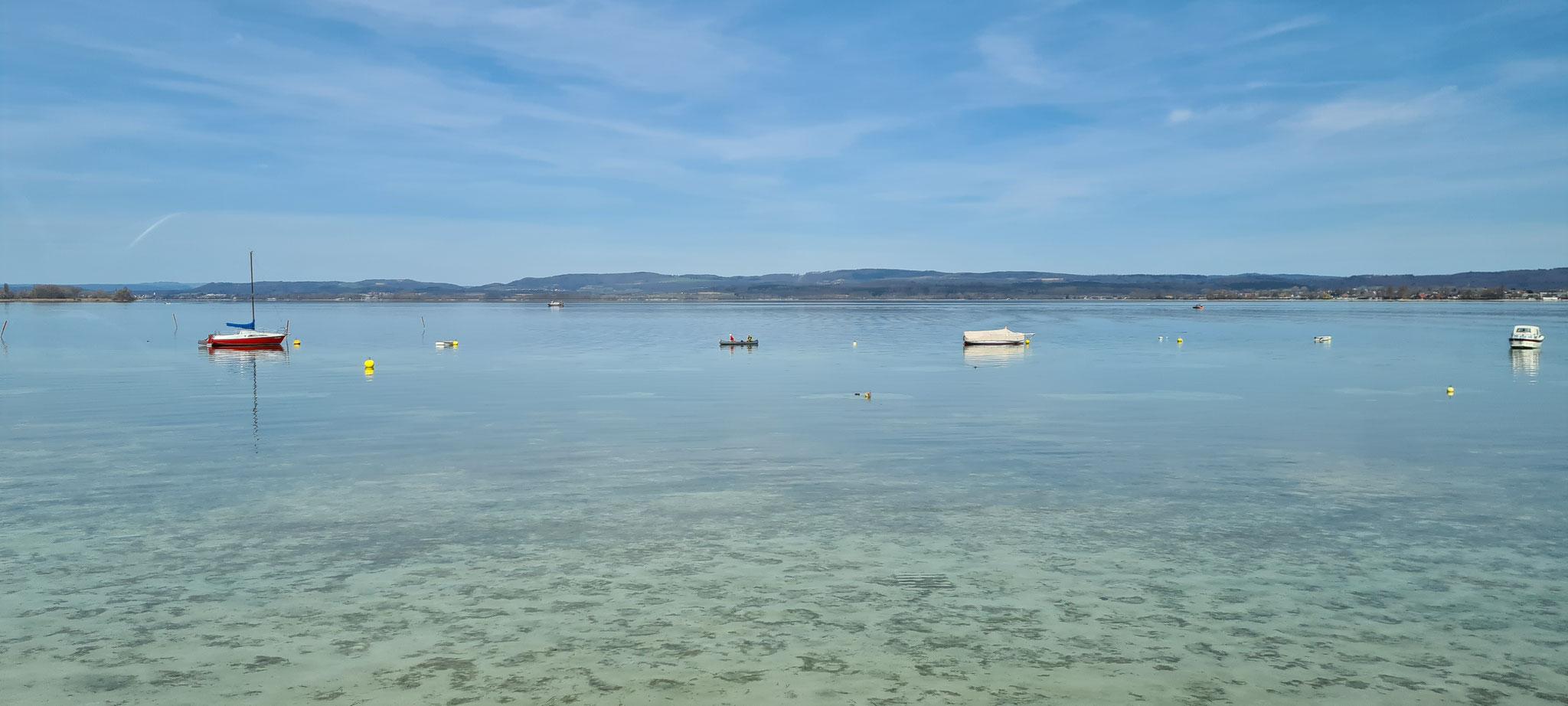 Fjord oder Atlantik...leider nur See in der Schweiz