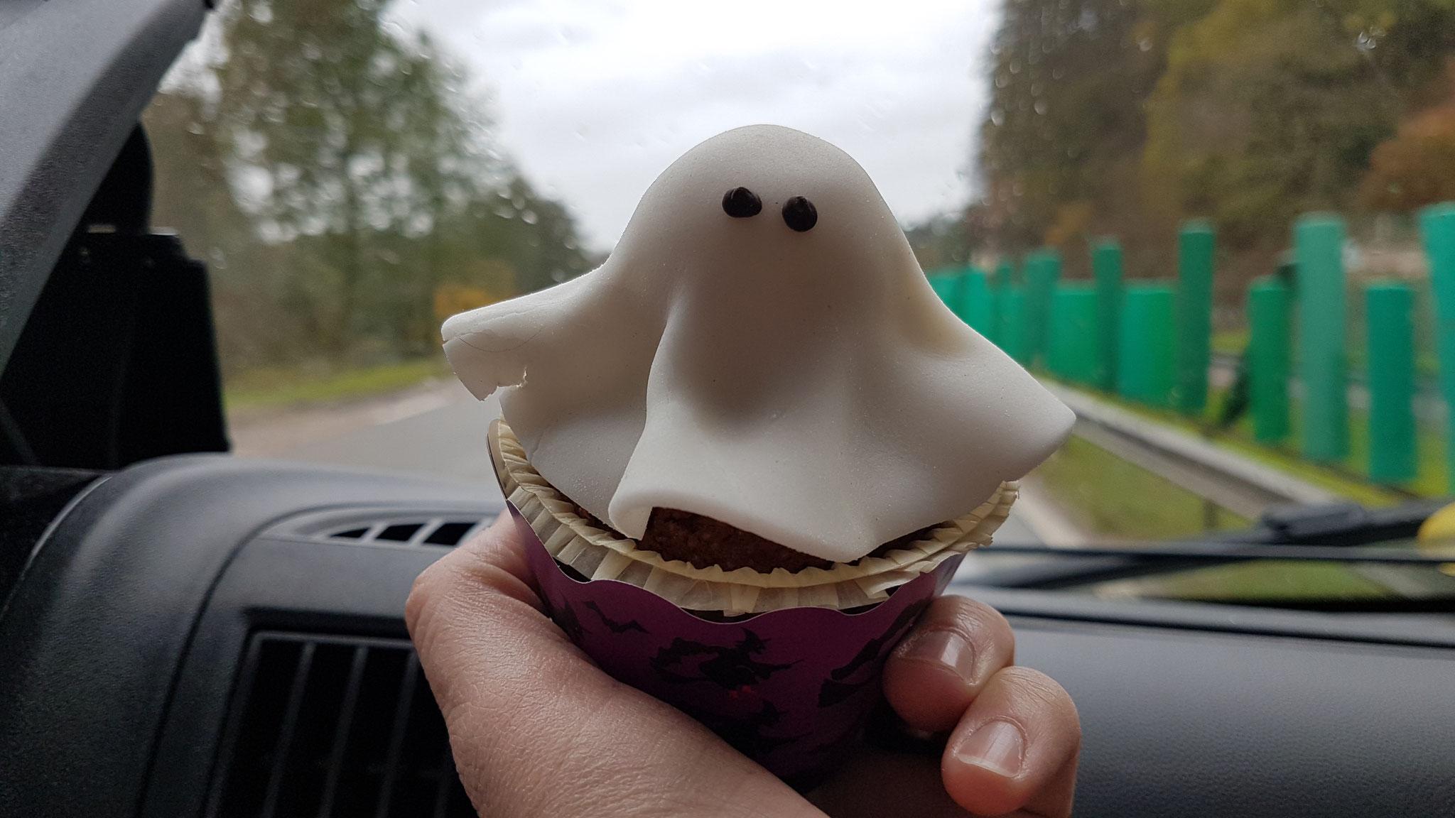 Halloween-Gespenst  ... hübsch aber nicht lecker