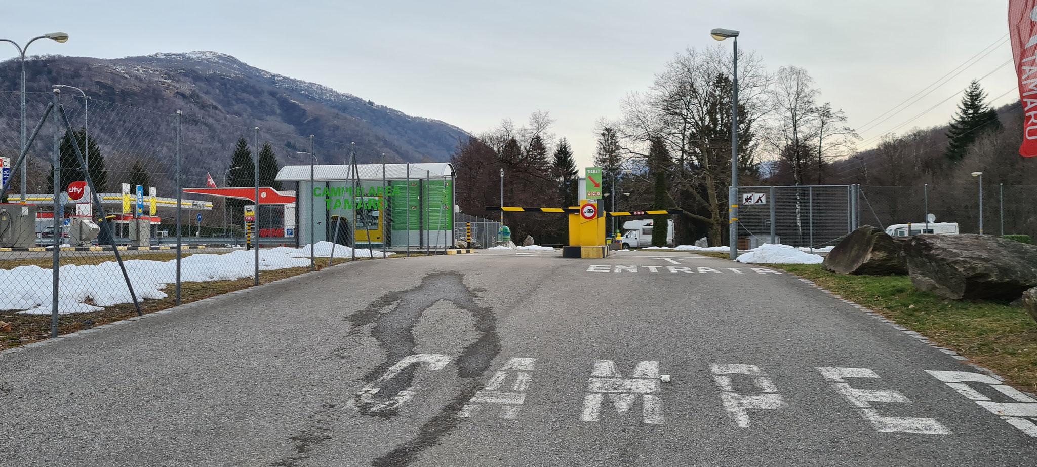 Camper Area Tamaro am Monte Ceneri...hier müssen wir wieder einmal hin!