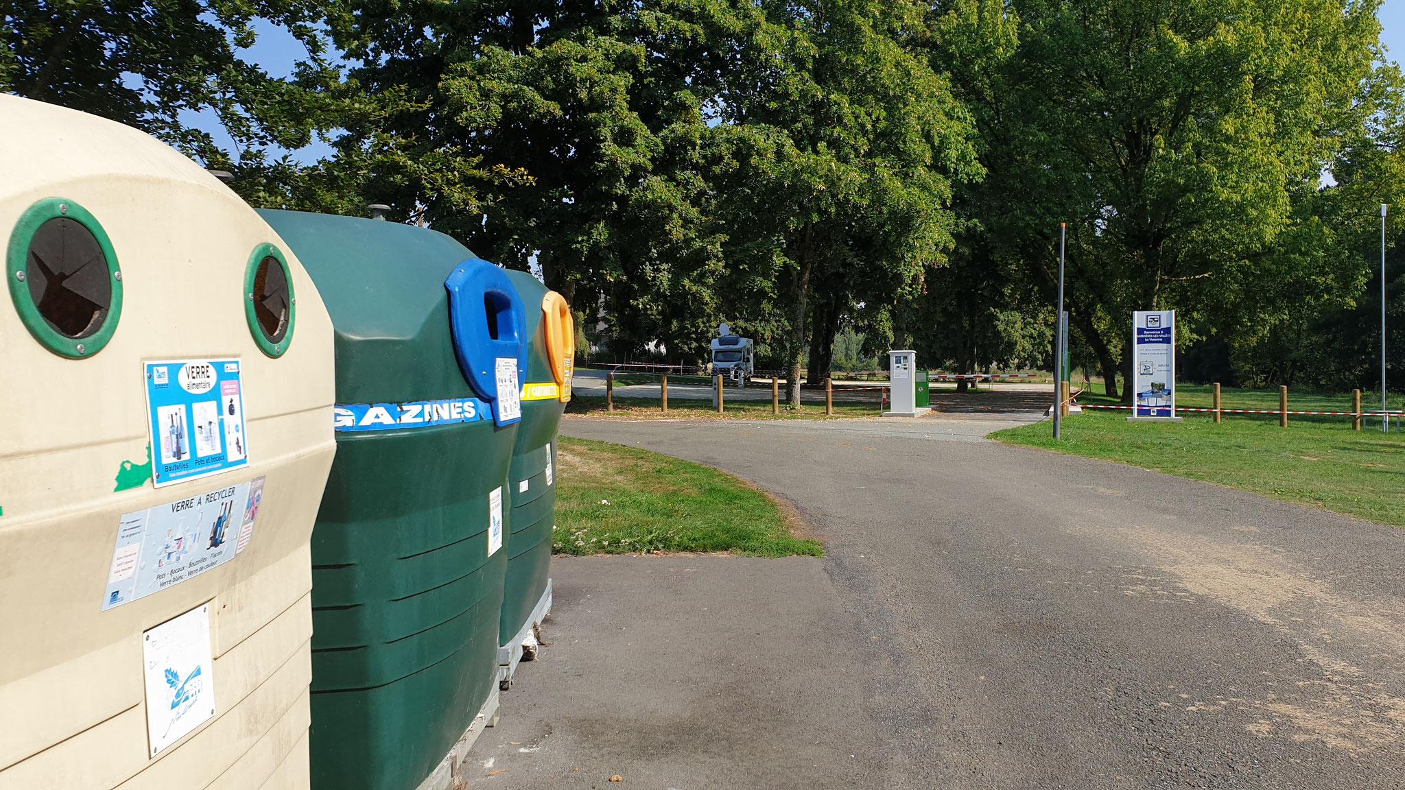 Müllentsorgung / Mülltrennung ist auch vorhanden