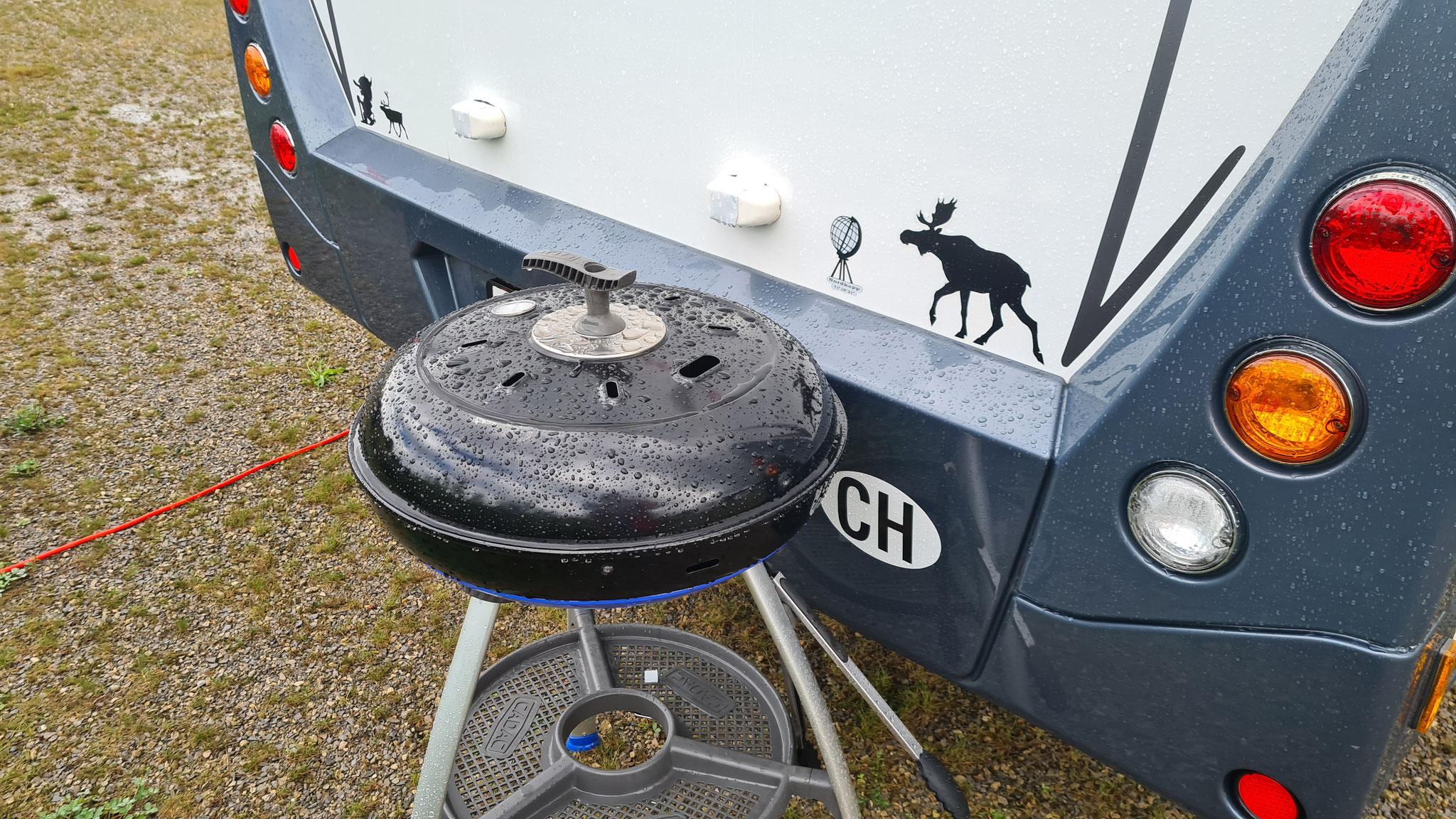 Da wird der Grill zum Dampfgarer