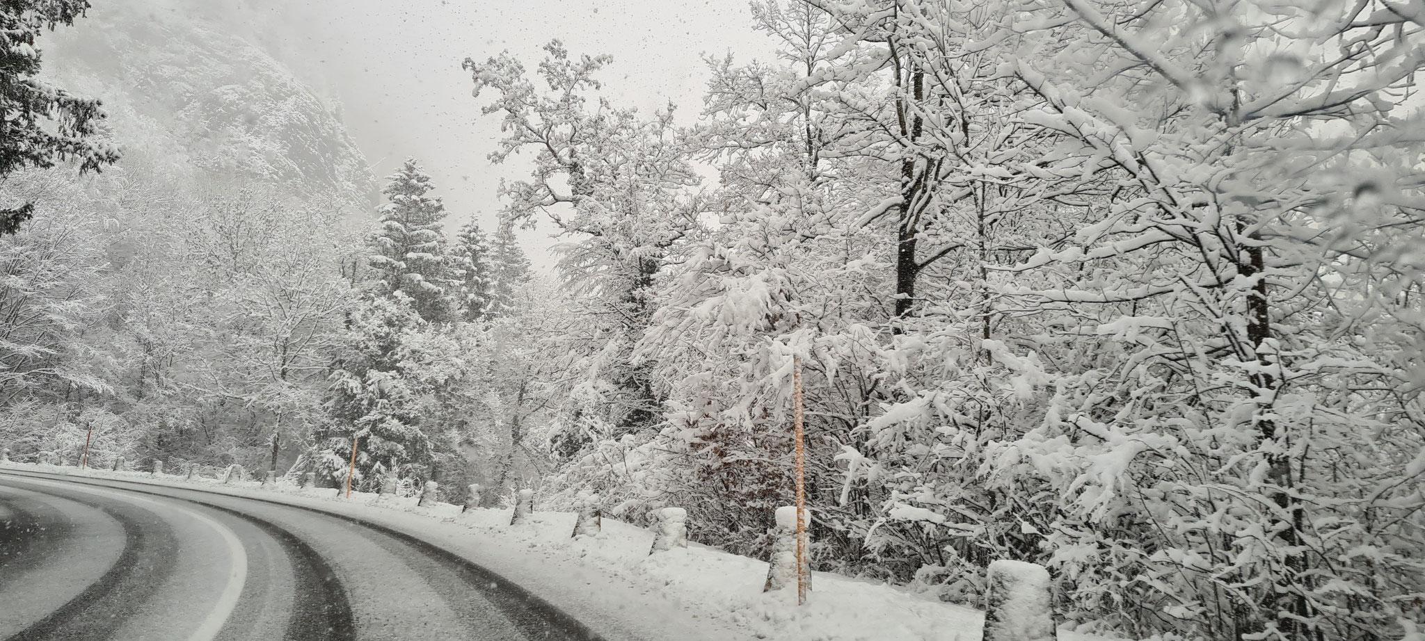 Endlich noch einmal mehr Winter...