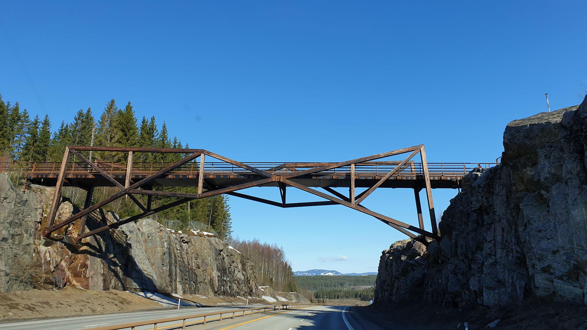 Ob diese Brücke noch hält?