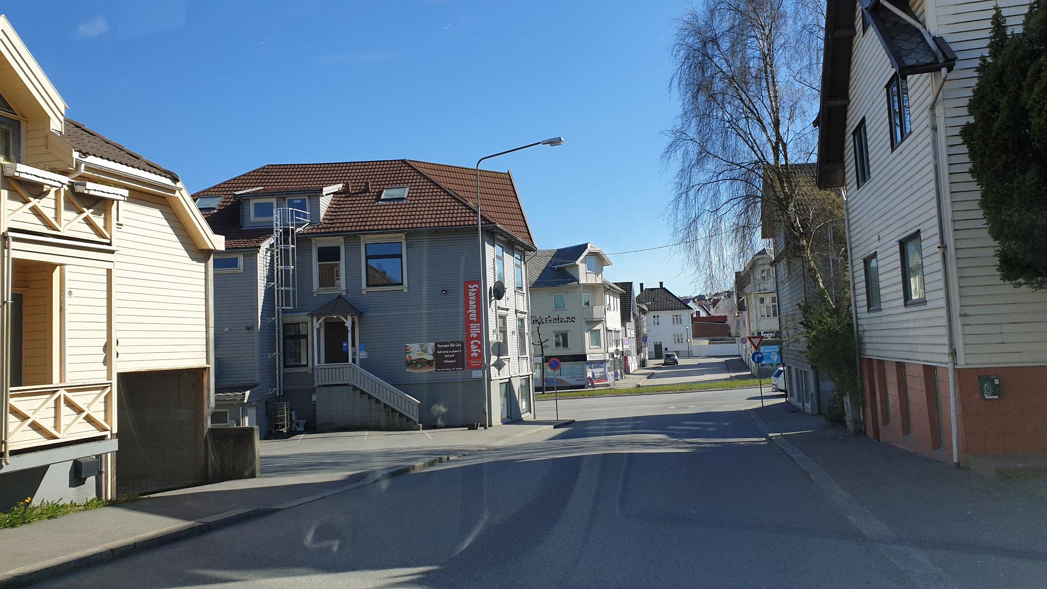 Weiter  durch Stavanger hindurch