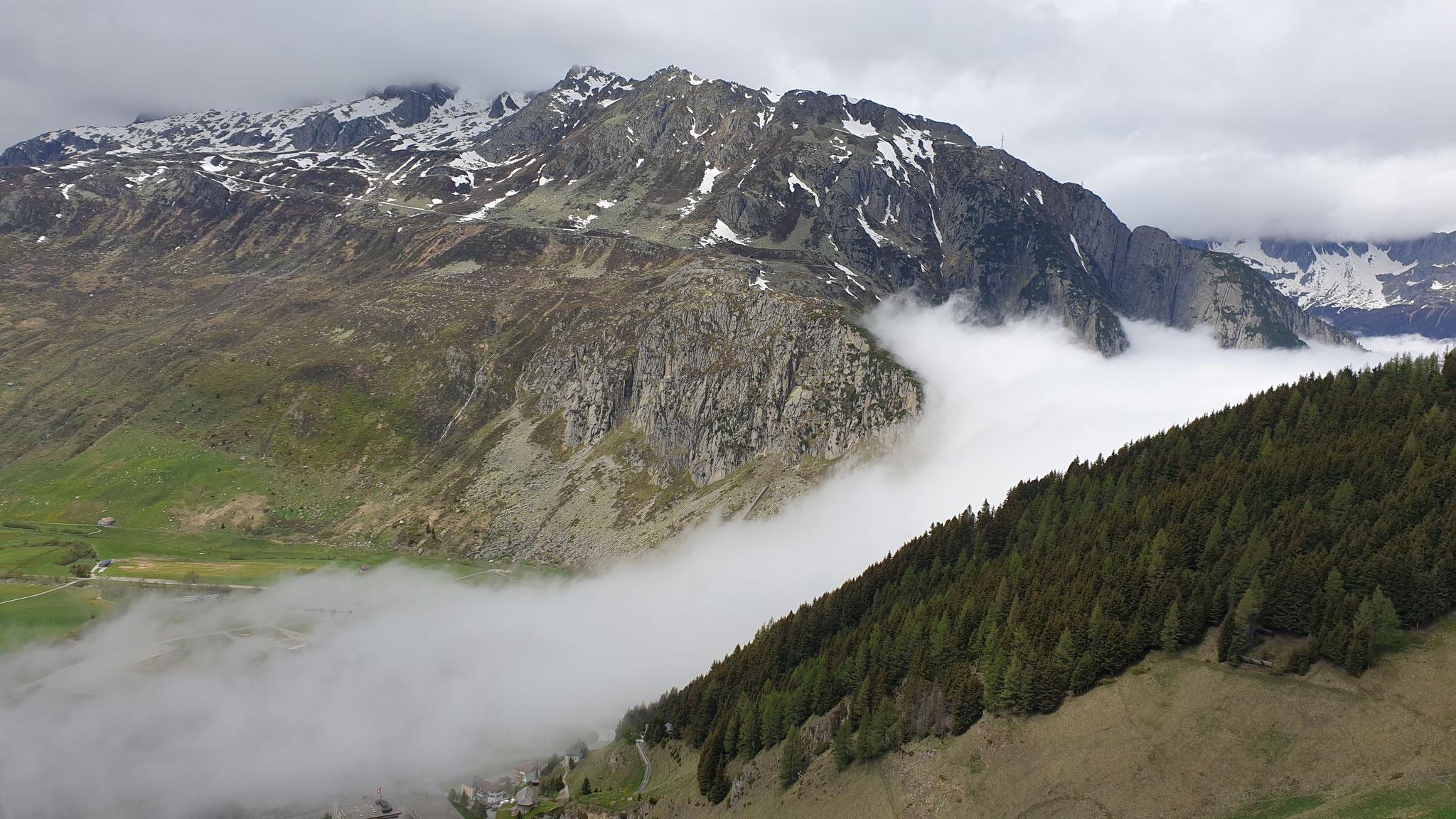 Ausflug über den Oberalp-Pass...