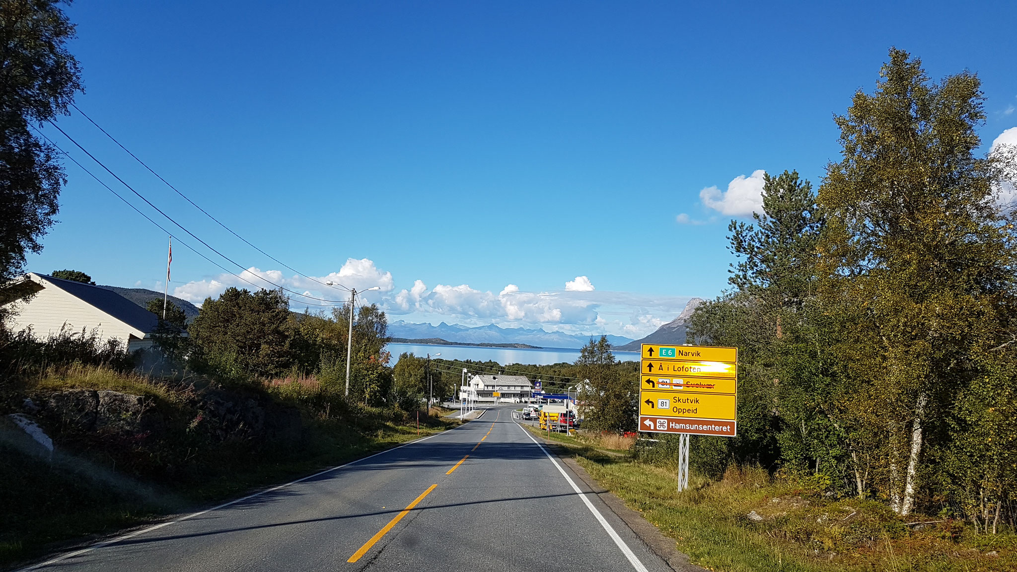 Weiter Richtung Narvik