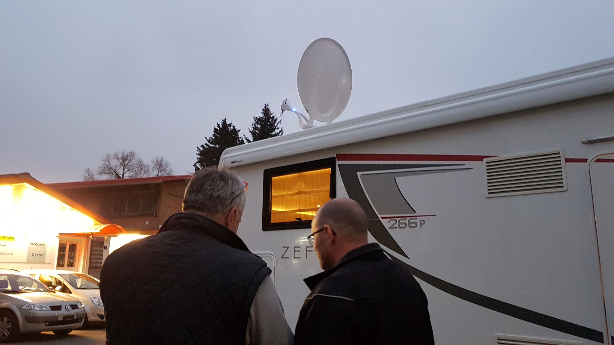 Erklärung der neuen Antennen-Steuerung durch René Voigtmann