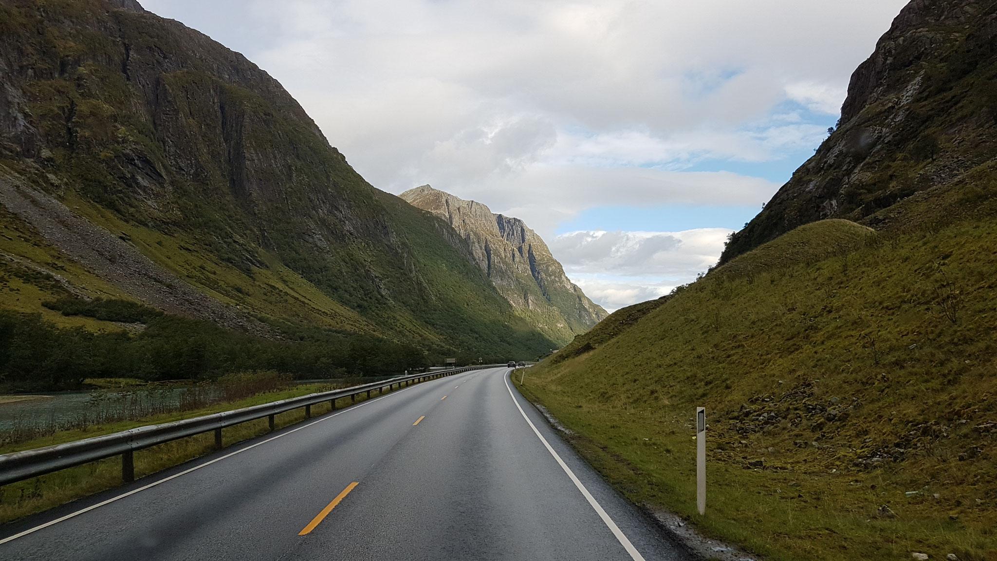 ...auf unserem Weg nordwärts