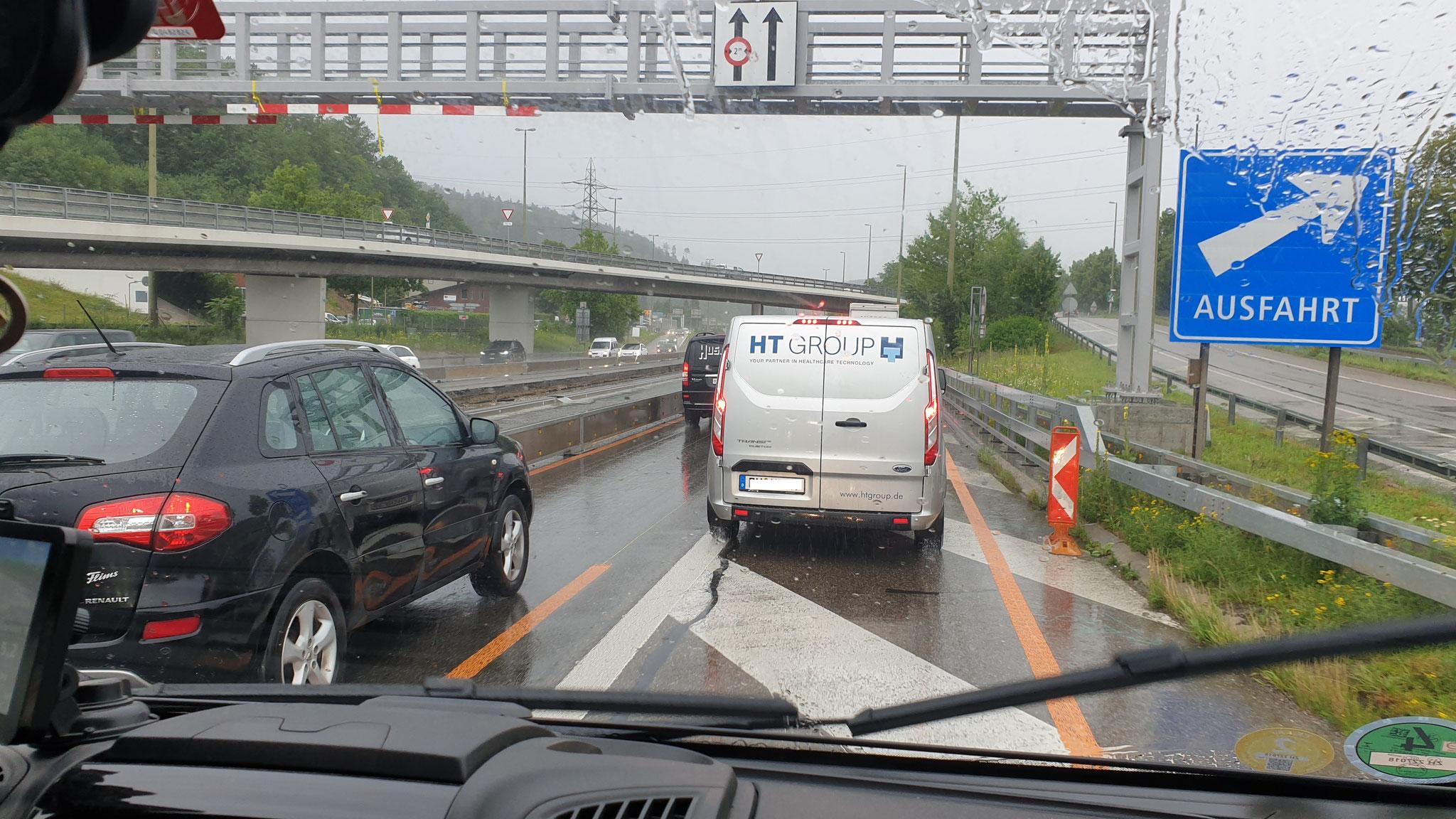 In der Region um Winterthur nimmt der Verkehr massiv zu...