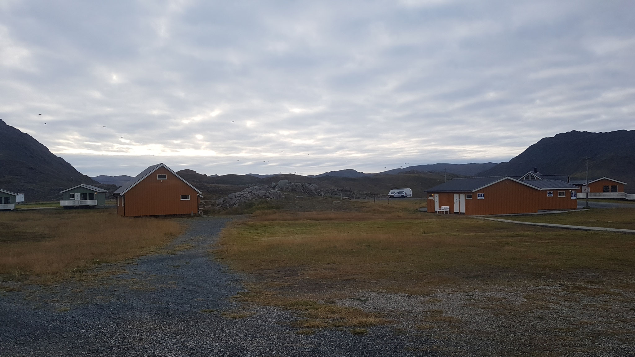 Ein verlassener Campingplatz im Norden
