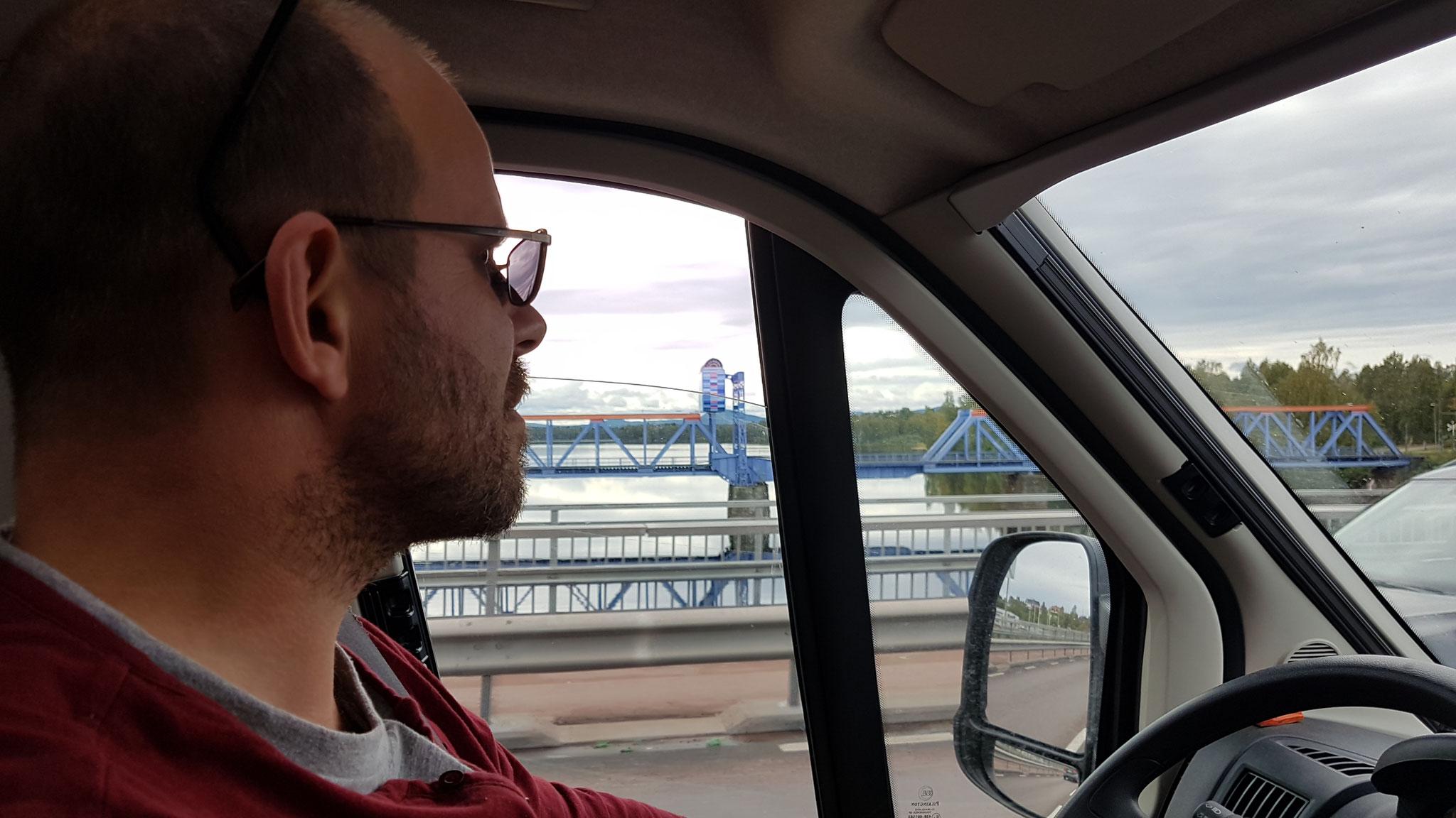 Wieder eine Brücke entdeckt....