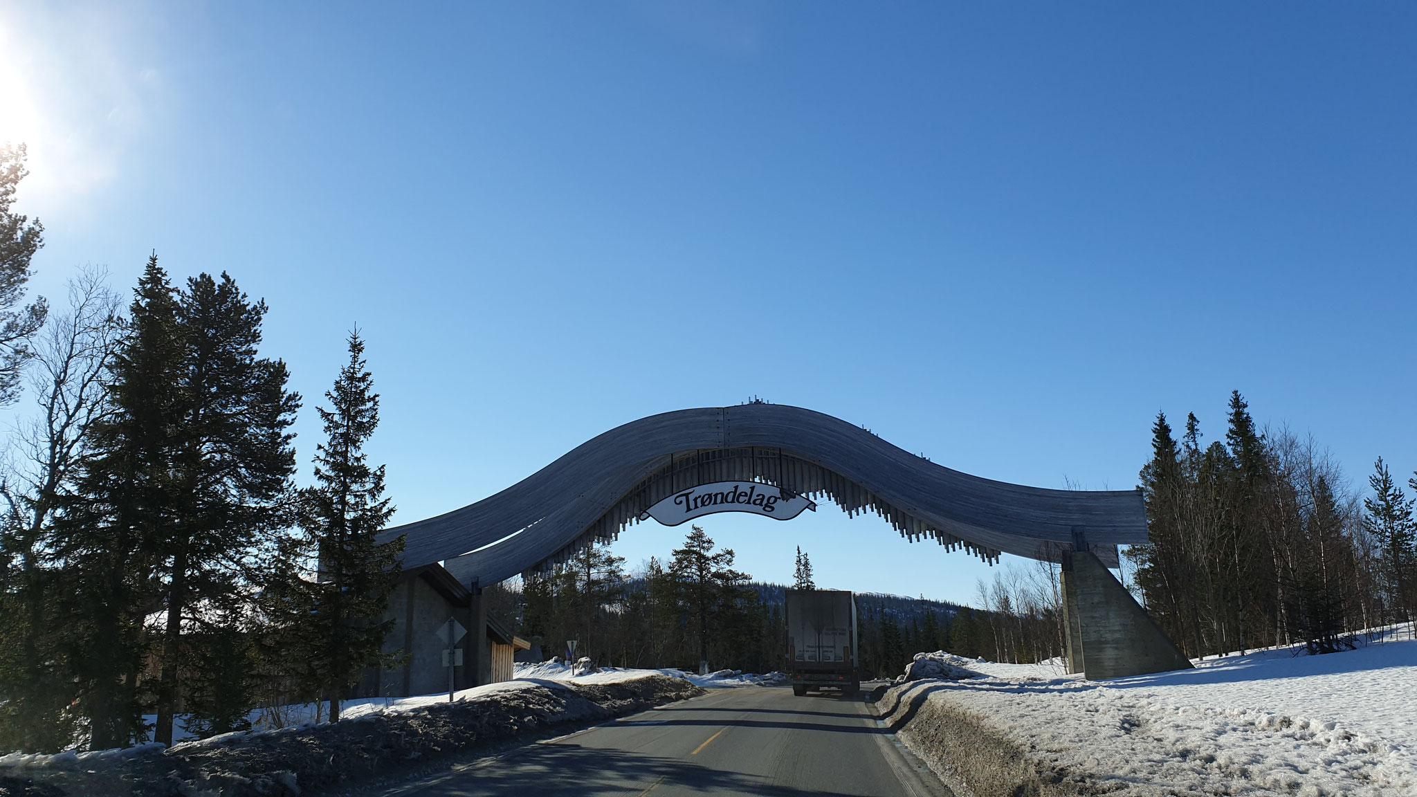 Das Nord-Norge-Portal...