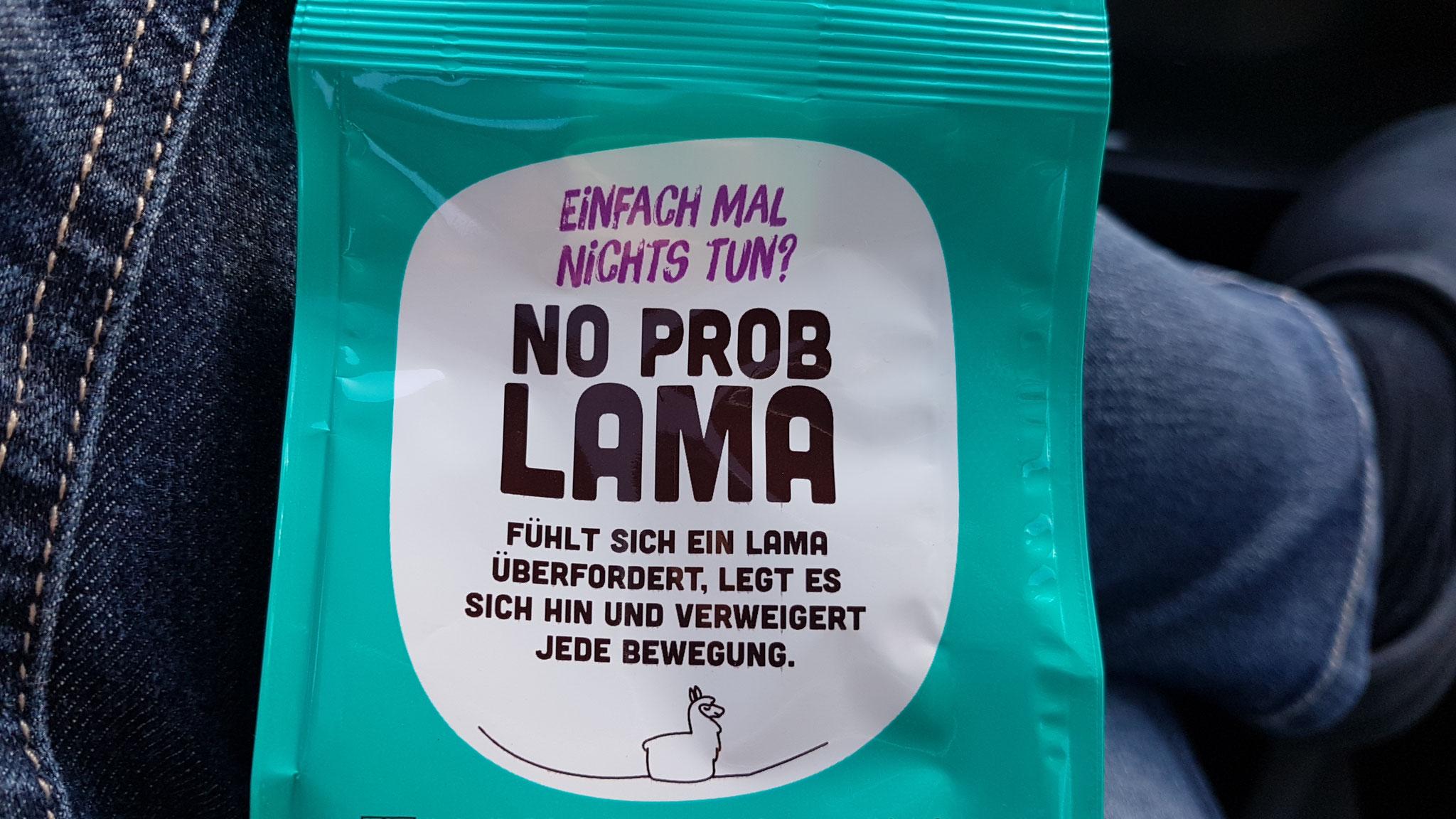 Wo die Lama's recht haben, haben sie recht ;-)
