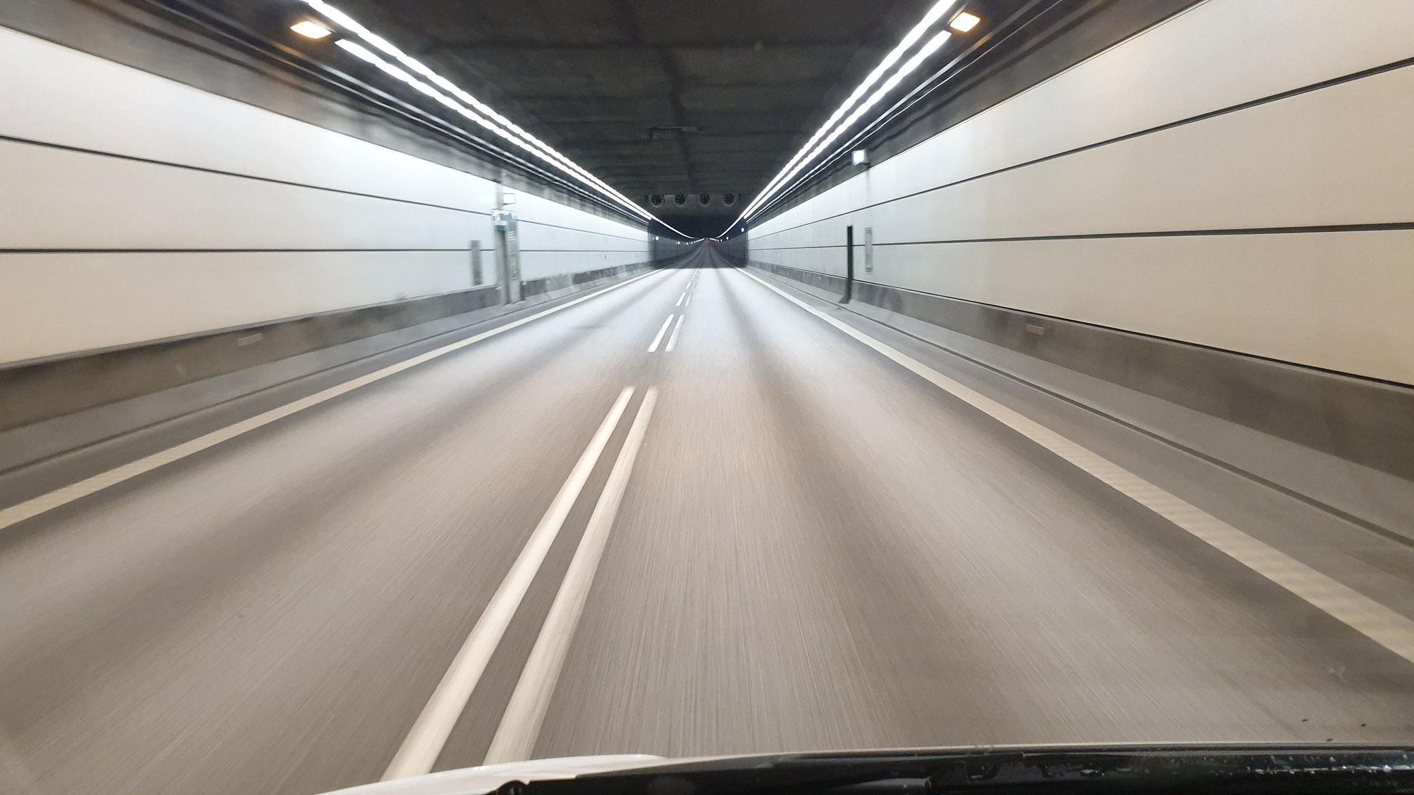 Durch den Tunnel, bald schon in Schweden