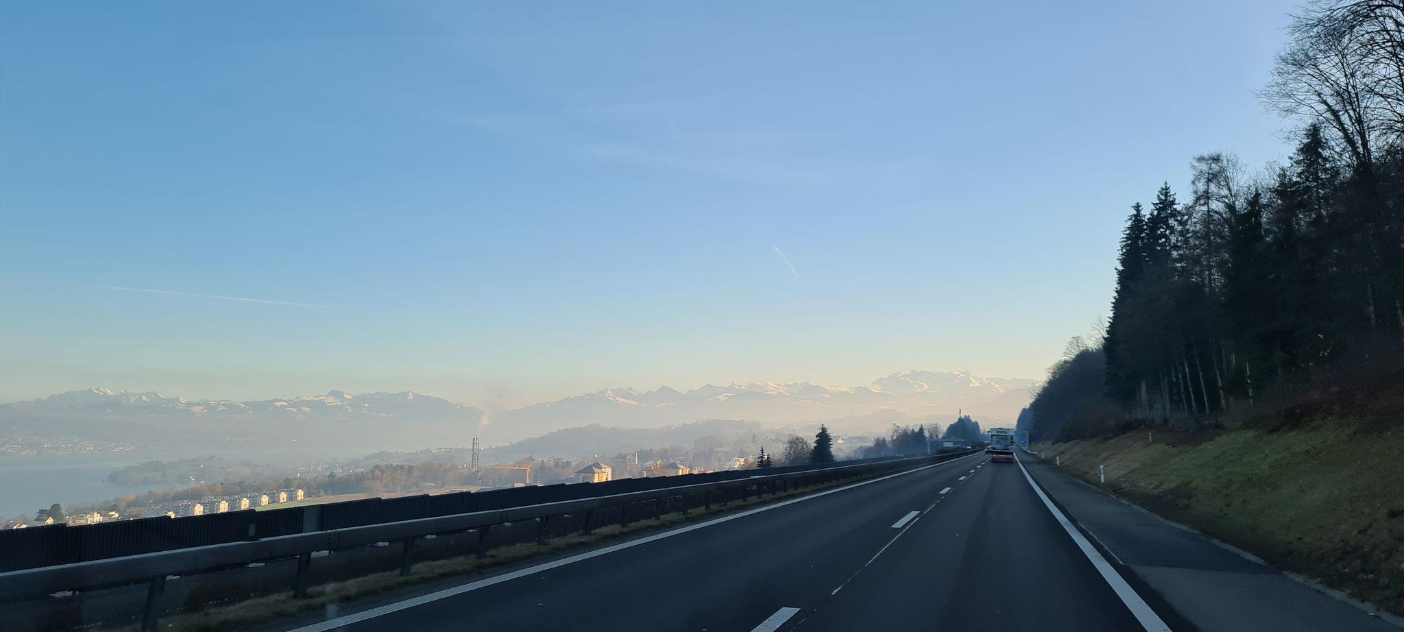 Kurzer Abstecher nach Glarus...