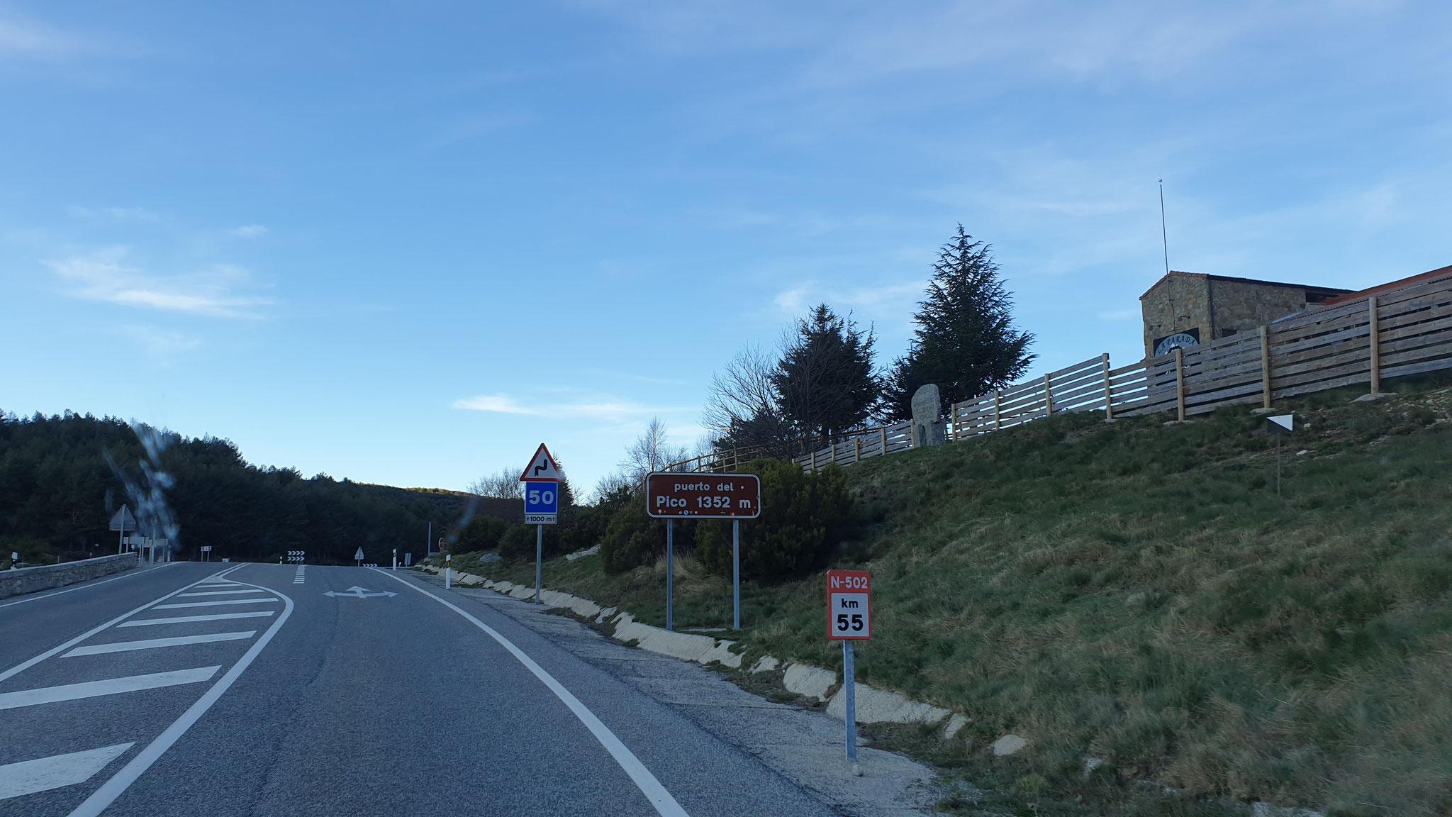 Passhöhe erreicht - Steinbock leider nicht fotografiert