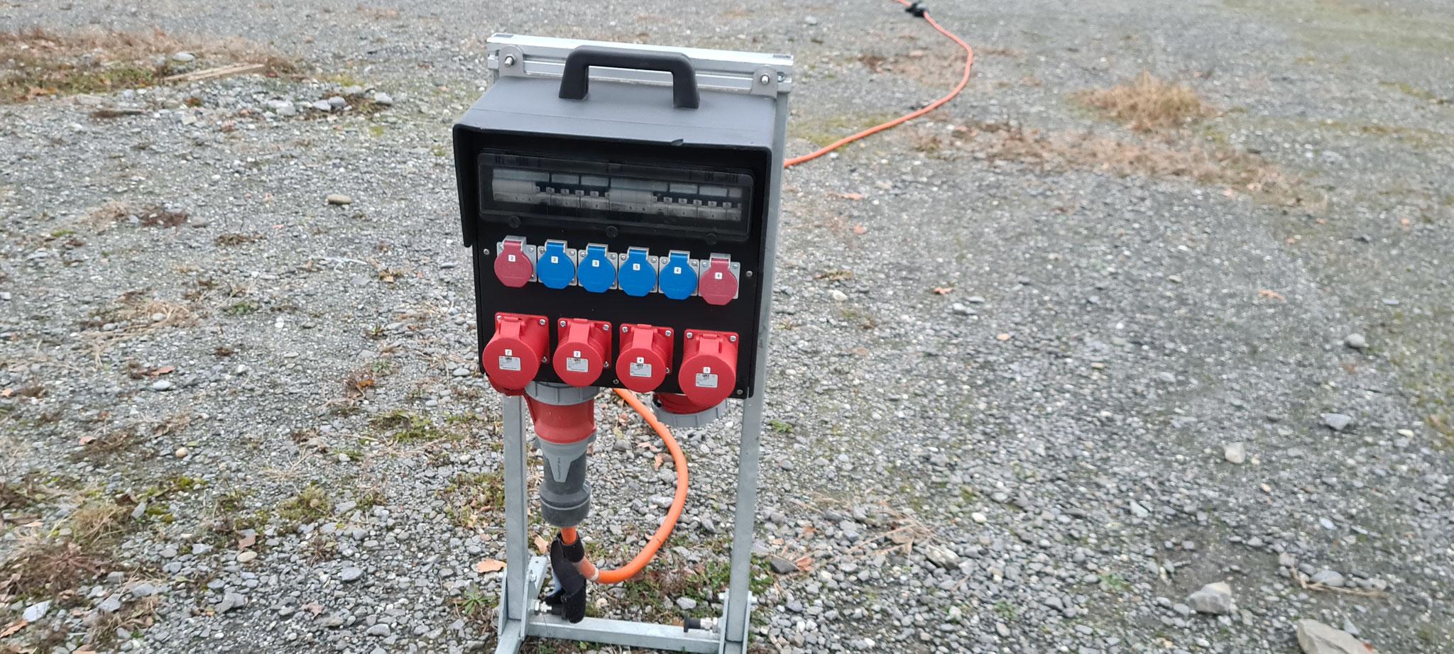 Strom ist in der Platzgebühr enthalten