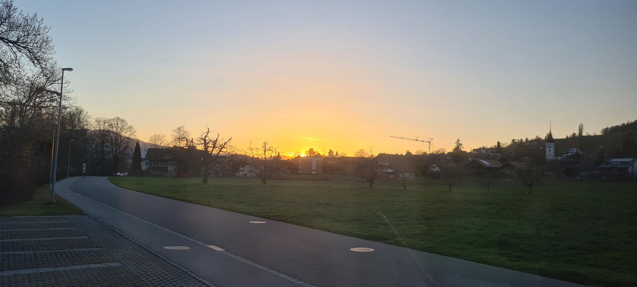 ...und einen schönen Sonnenuntergang