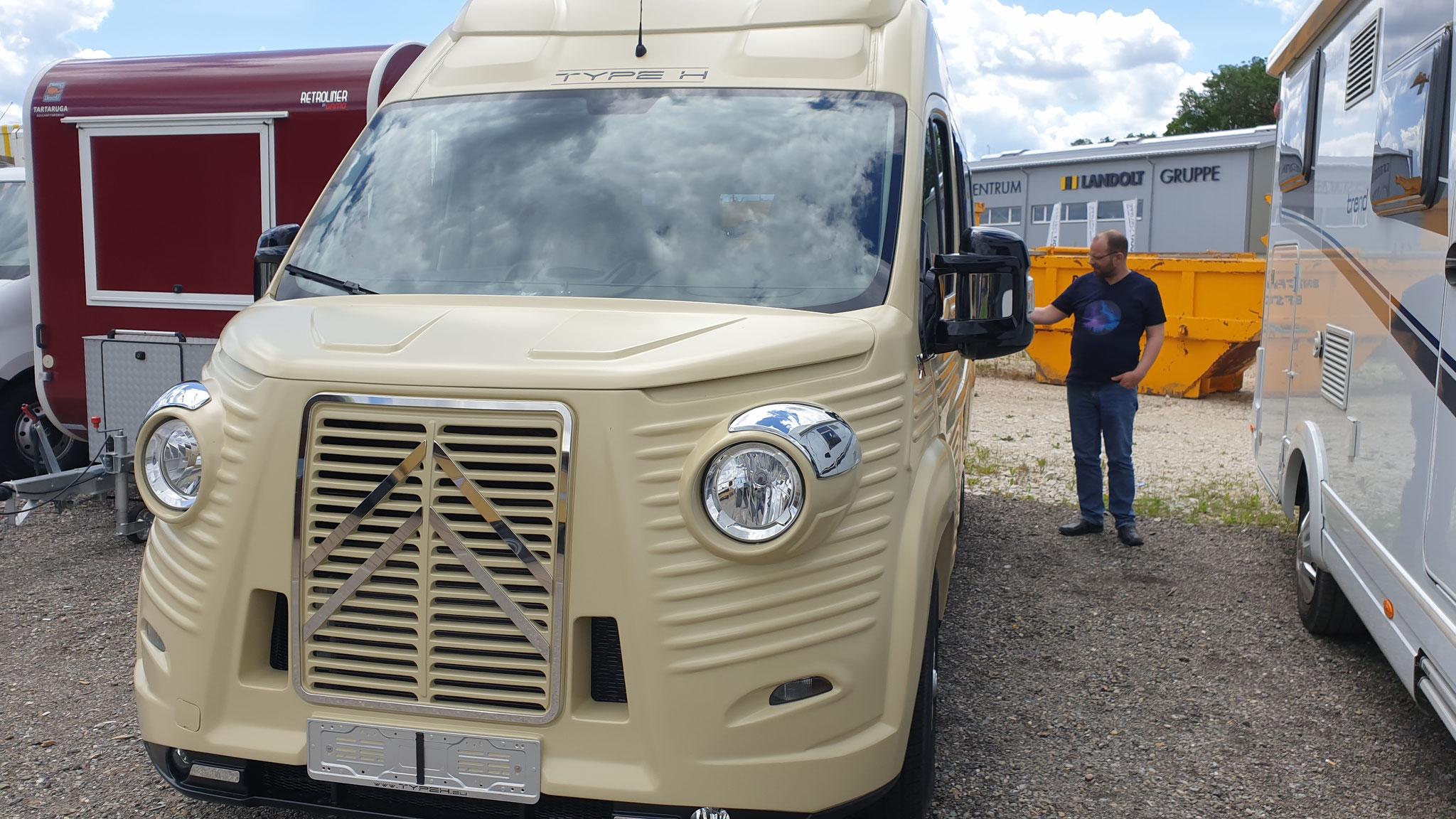 Neues Fahrzeug mit Alt-Umbau-Kit für ca. 30'000.--