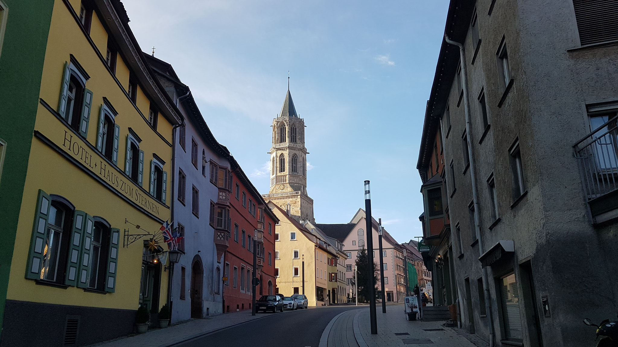 Hübsche Altstadt von Rottweil