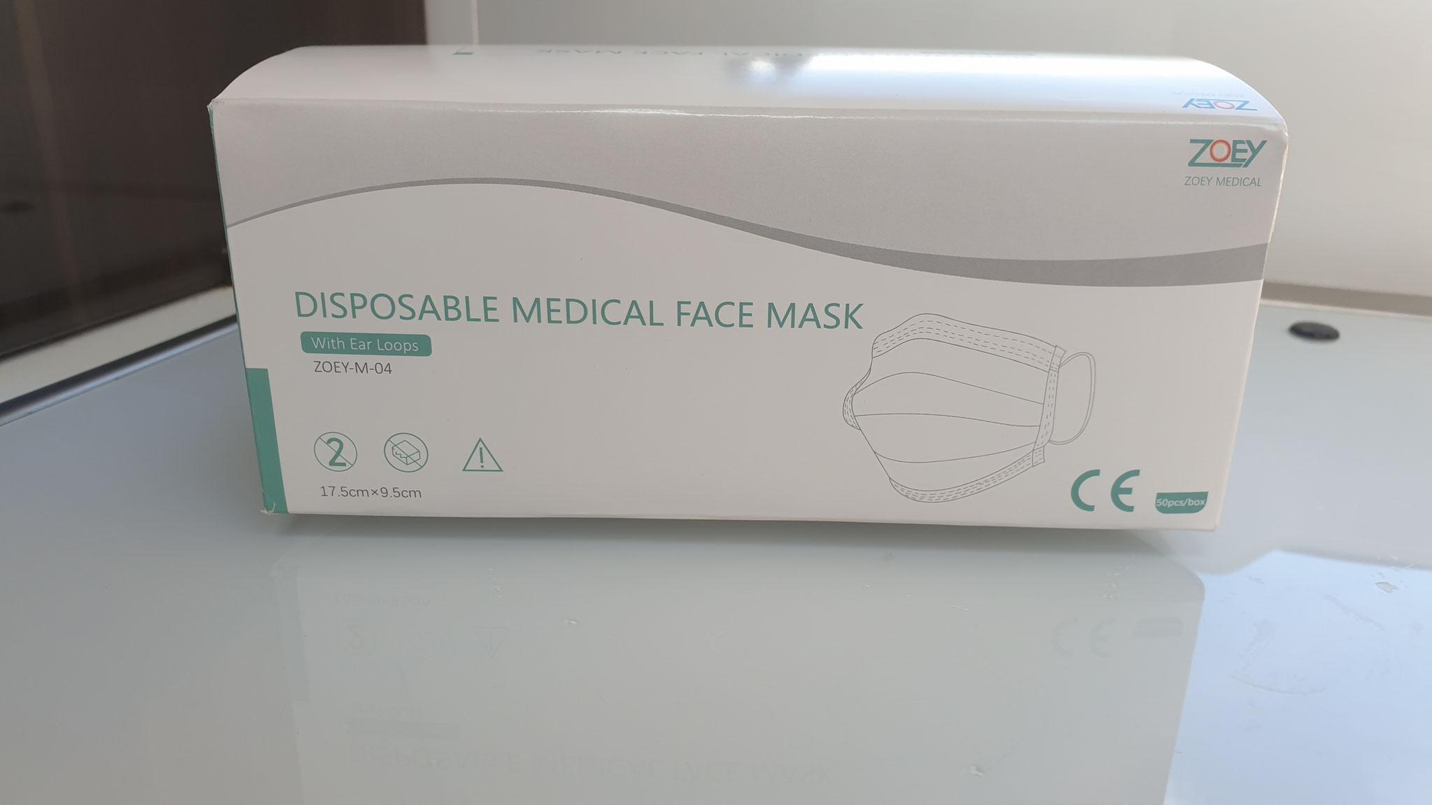 ...und eben auch Masken, für einen allfälligen Einkauf in Deutschland