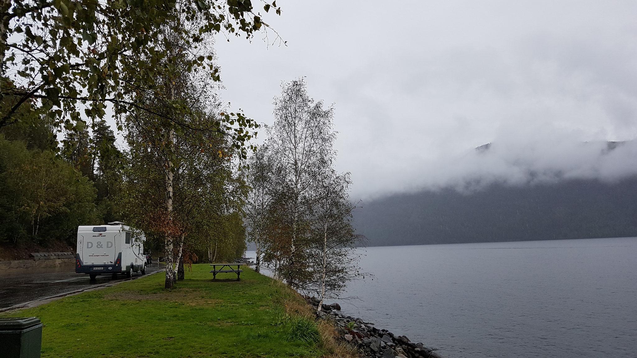 Auch bei Regen lieben wir Norwegen