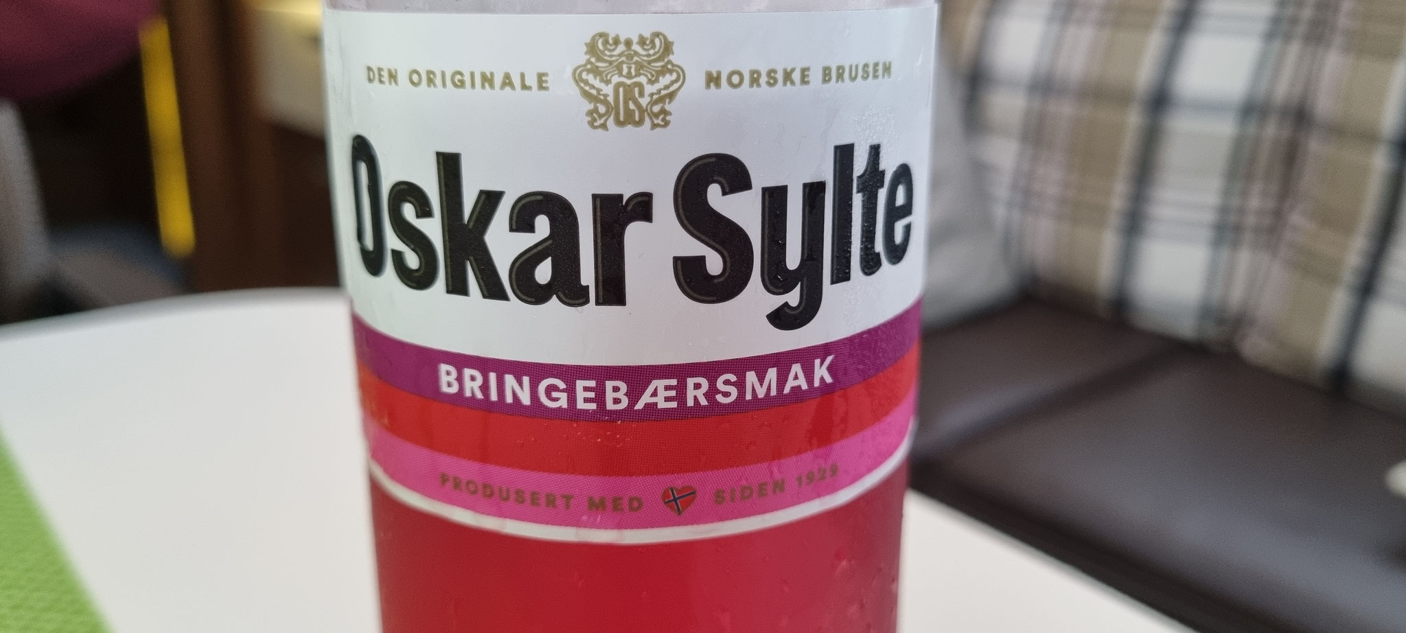 Die letzte Oskar Sylte-Brause aus Norwegen :(