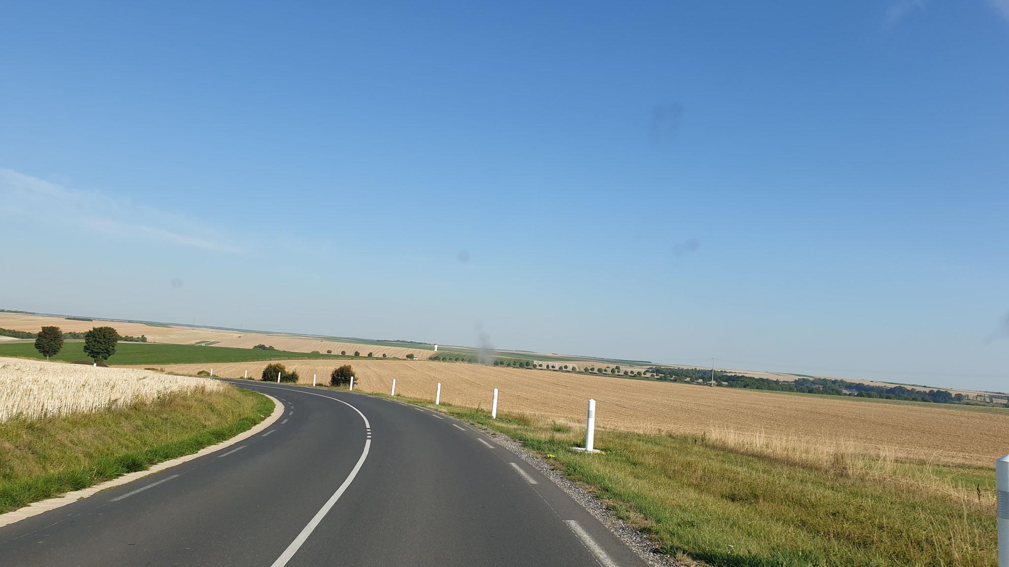 Die riesengrossen Felder...