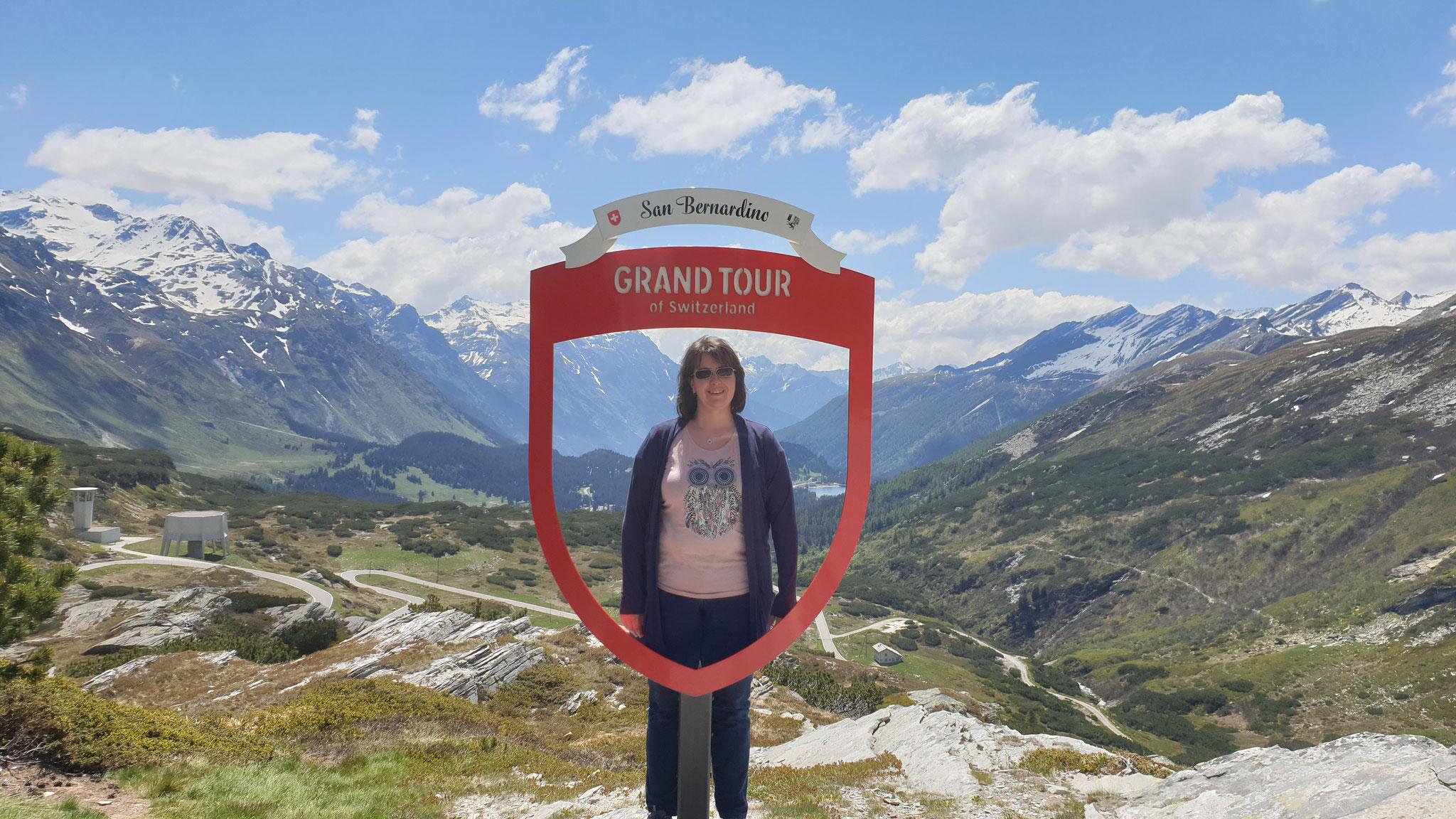 Das Touristenfoto ist sogar...
