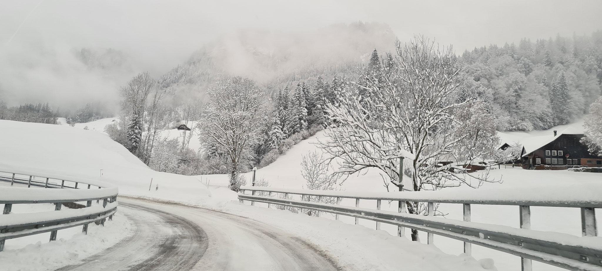Winterliche Strassen...