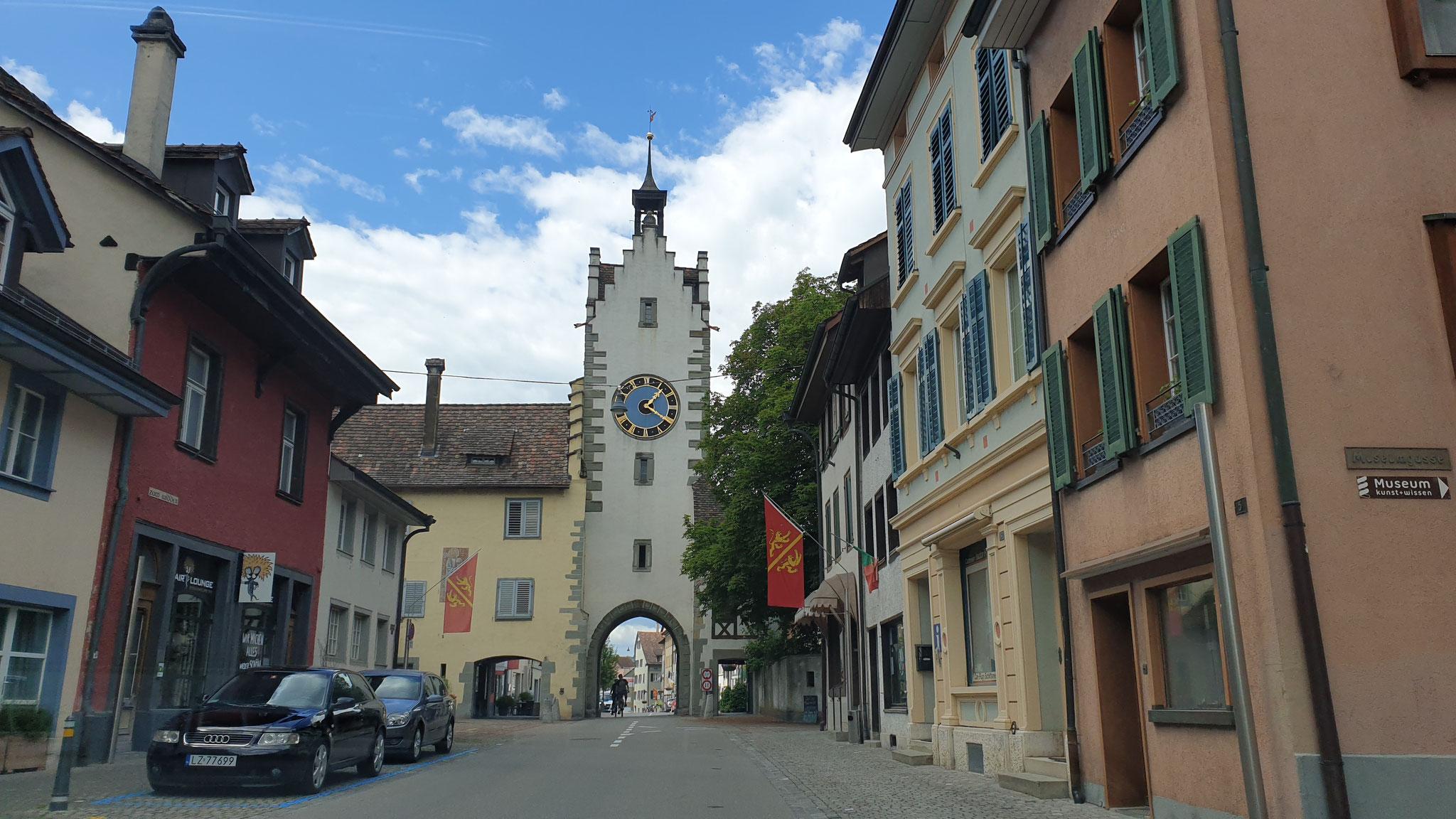 Fahrt durch Diessenhofen