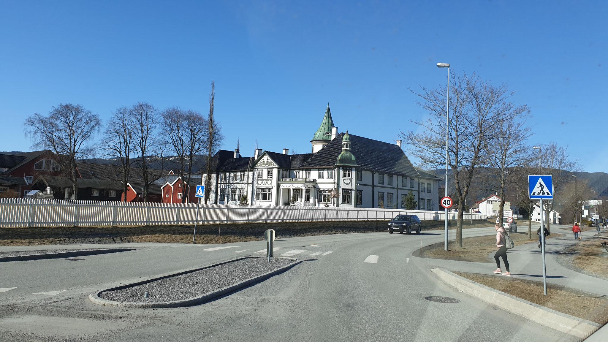 In Orkanger unterwegs