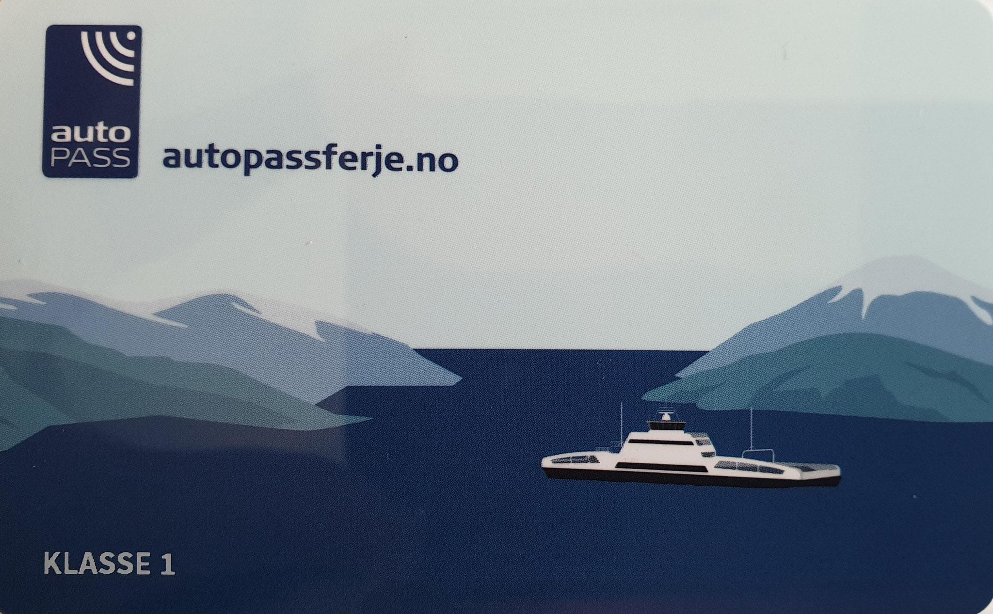 Neue AutoPassFerje