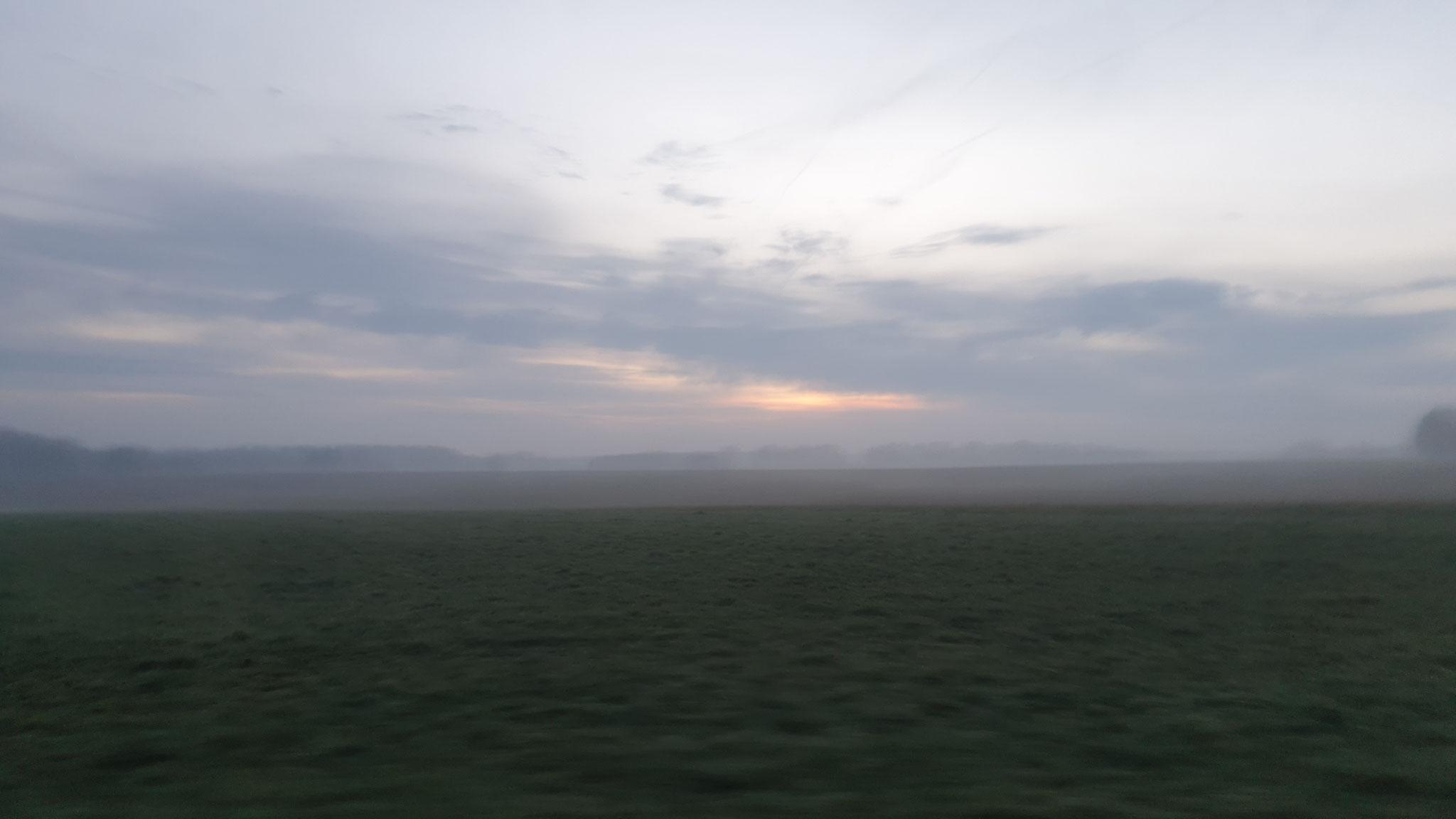 ...wunderschöne Morgenstimmung