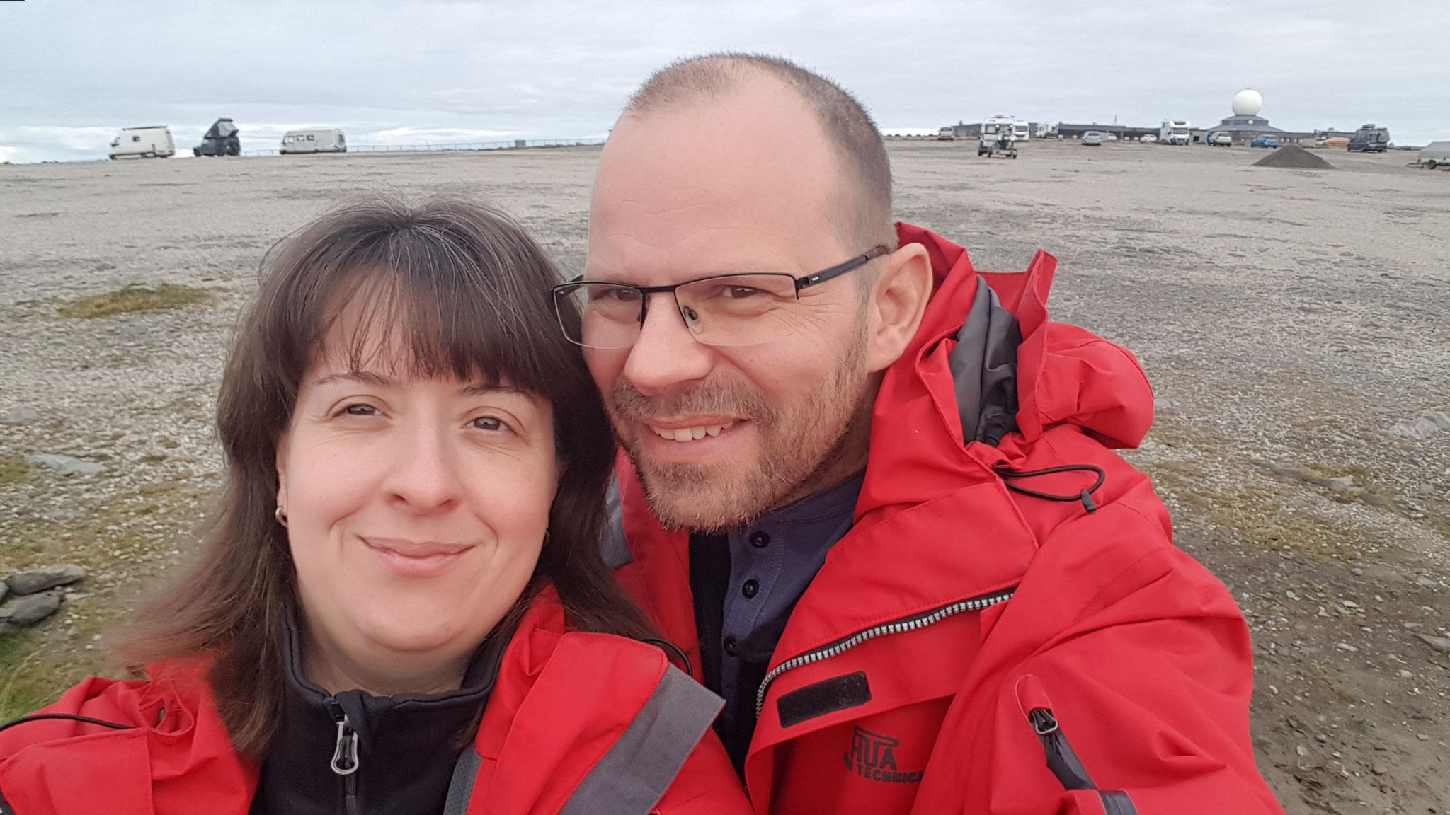 Wir sind zum 2. Mal am Nordkapp