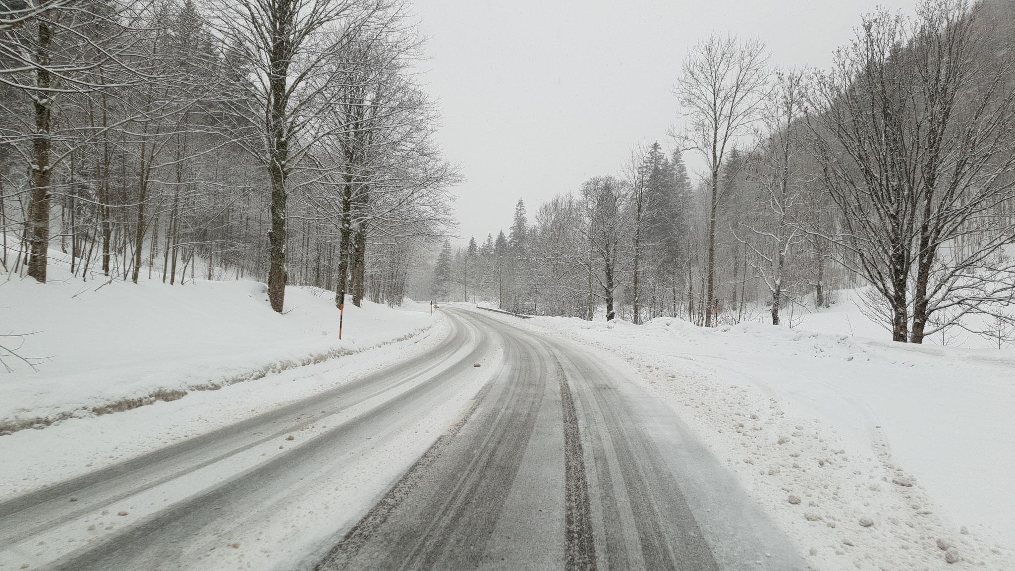 ...sind trotz Schnee kein Problem