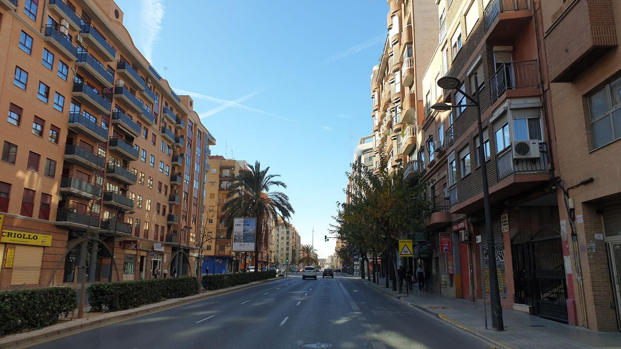 Auf durch Valencia...