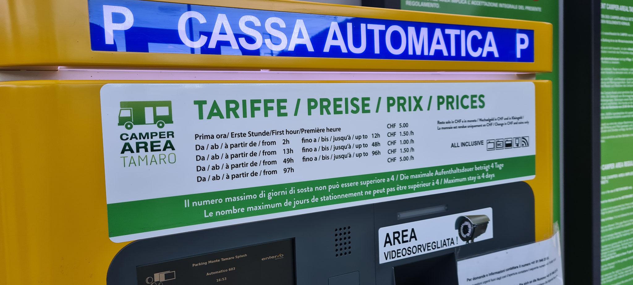 Der ominöse Automat, der am Samstag noch für Ärger sorgt