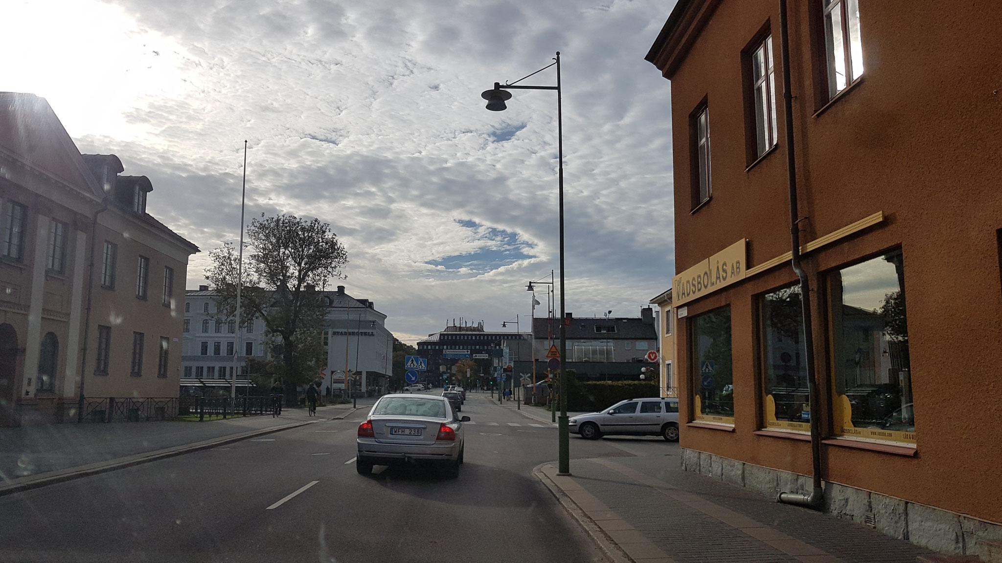 Ankunft in Mariestad...