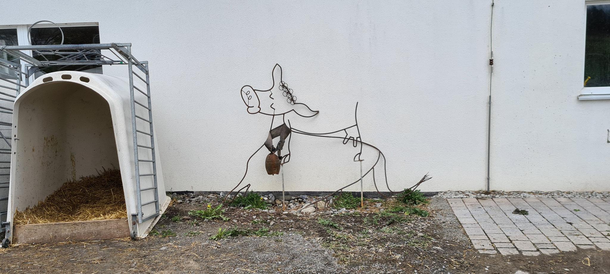 Das ist doch einfache wahre Kunst, direkt ums Eck...