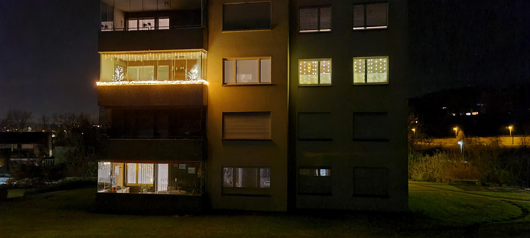 Wir sind nicht die einzigen mit Beleuchtung ;-)